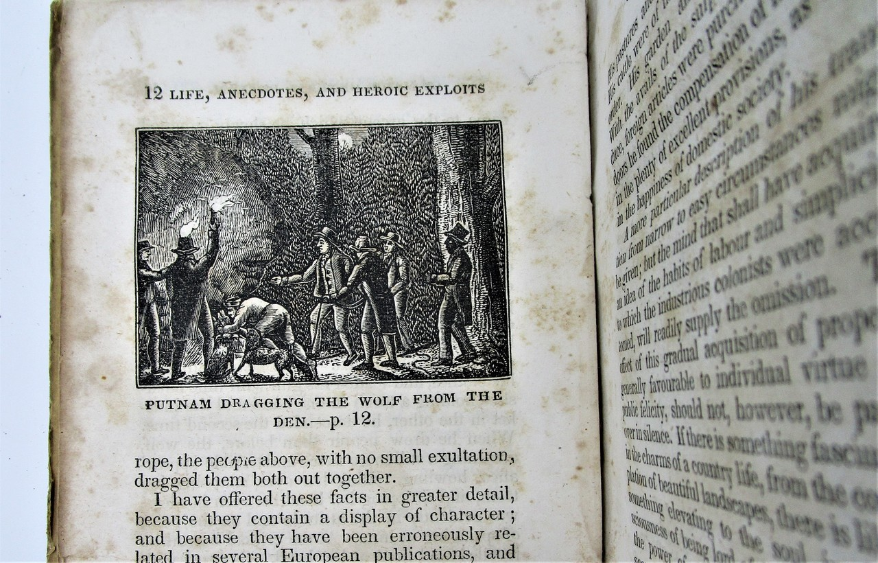 LIFE AND HEROIC EXPLOITS OF ISRAEL PUTNAM, by David Humphreys - 1833 [1st Ed]