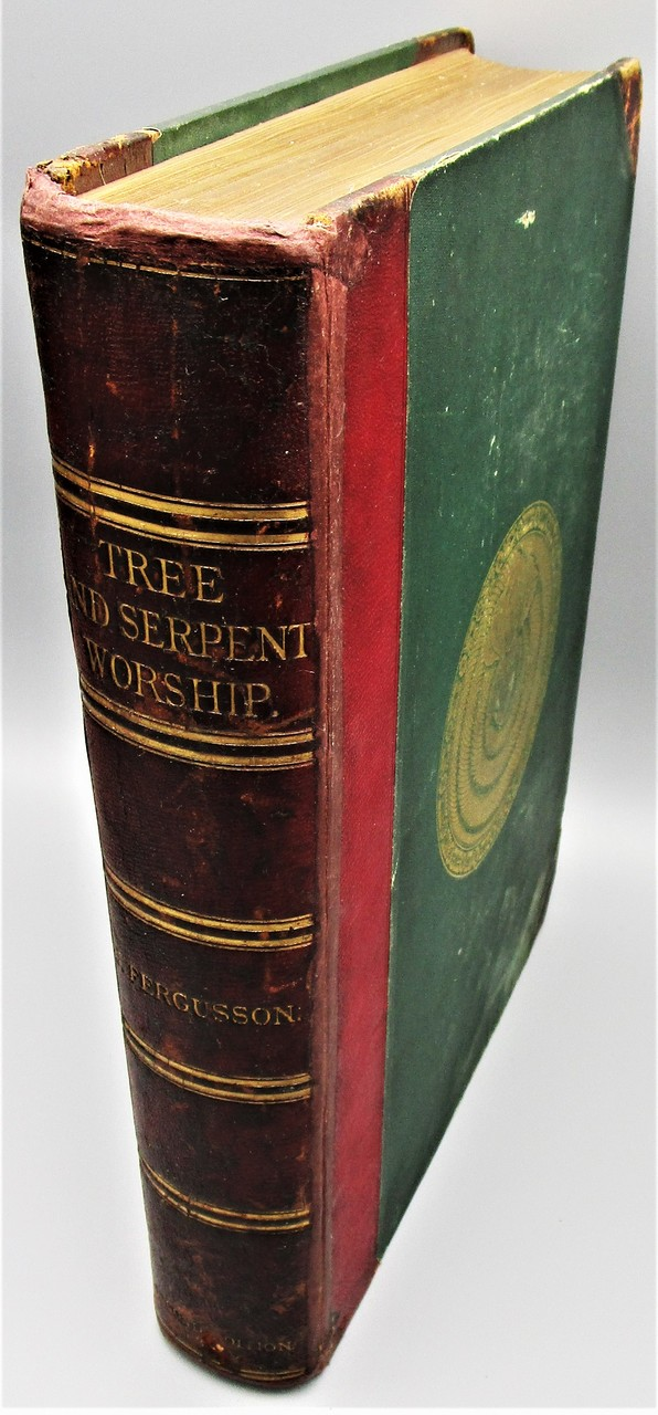 TREE AND SERPENT WORSHIP, by James Fergusson - 1873