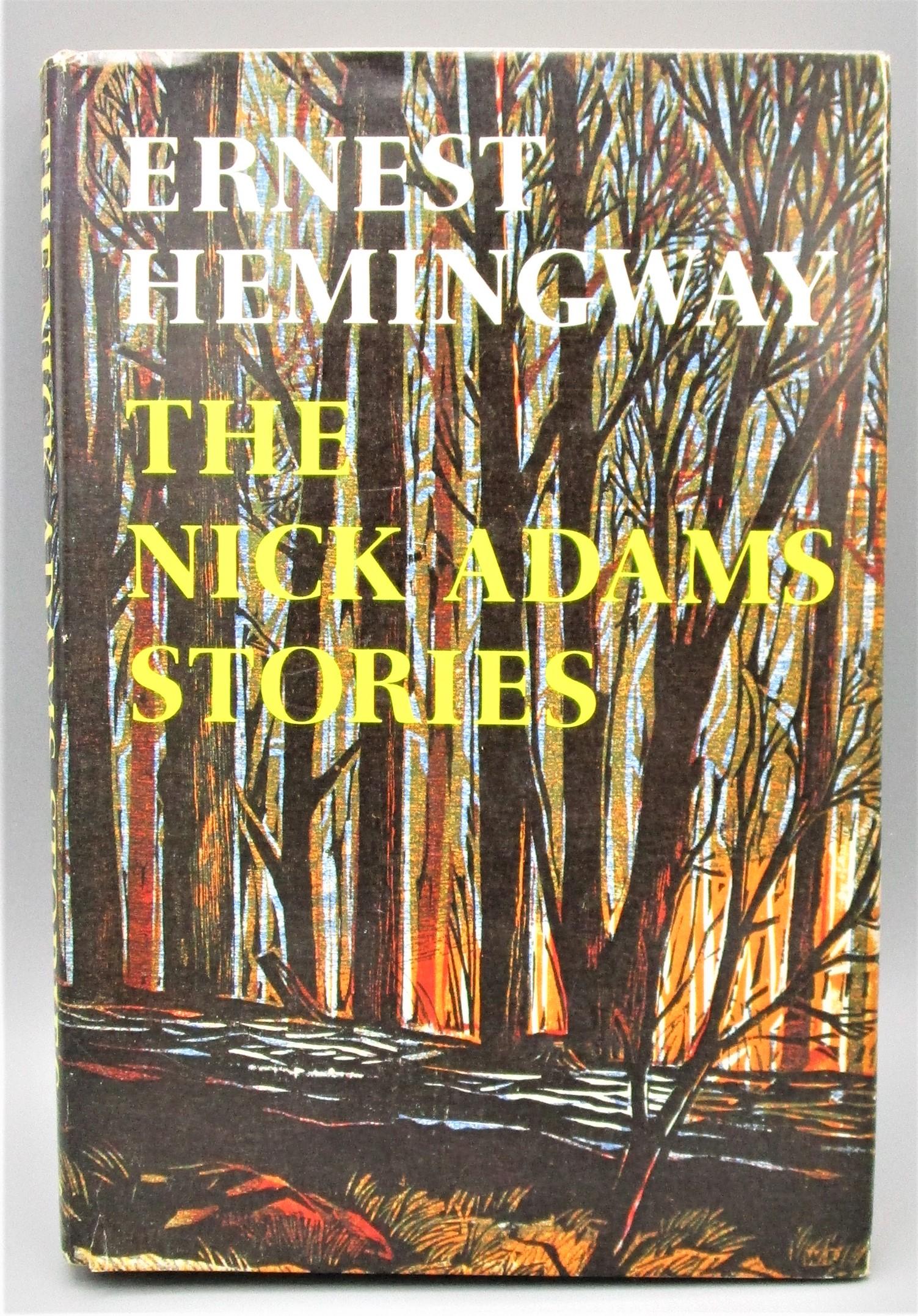 THE NICK ADAMS STORIES, by Ernest Hemingway - 1972 [Review Copy] *Ephemera*