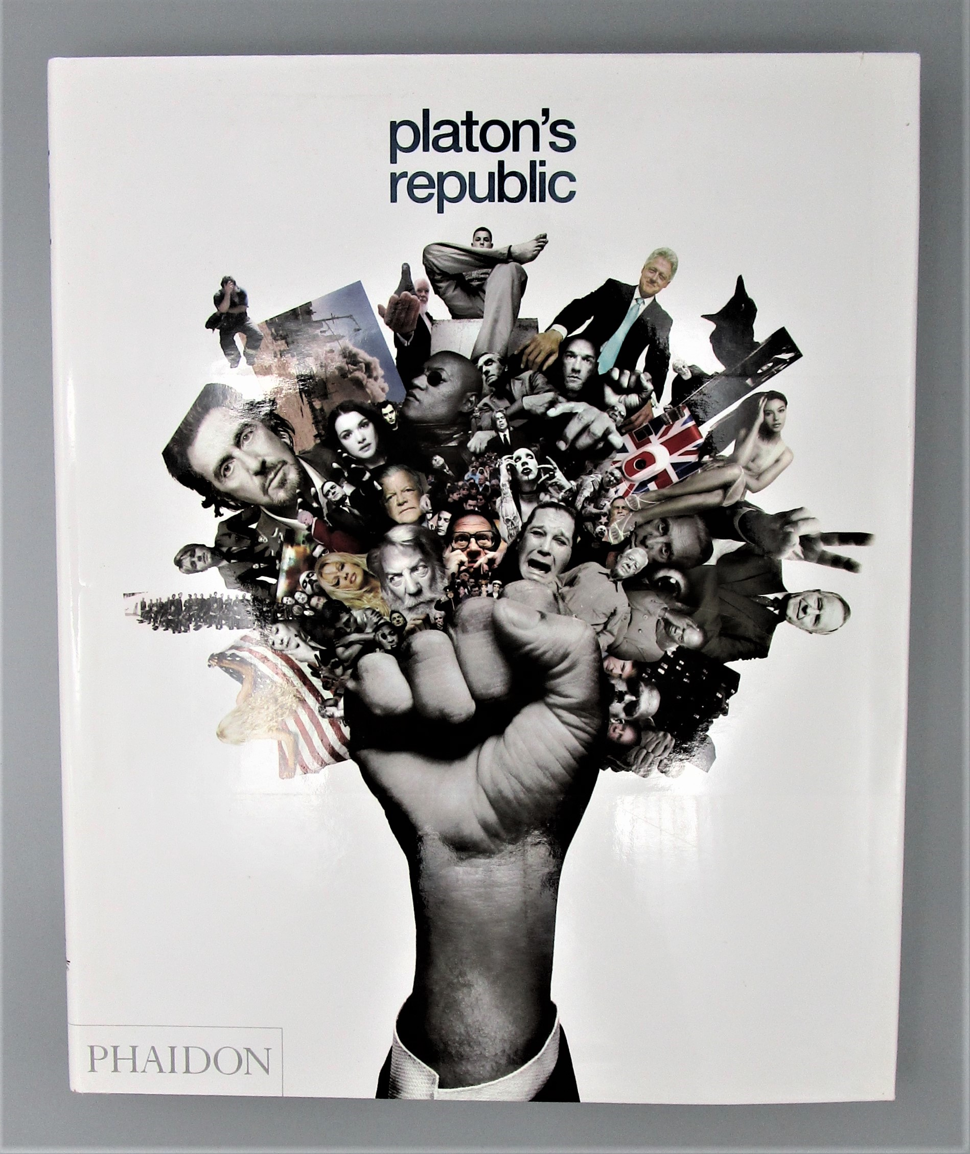 PLATON'S REPUBLIC, by Platon - 2004 [Signed 1st Ed)