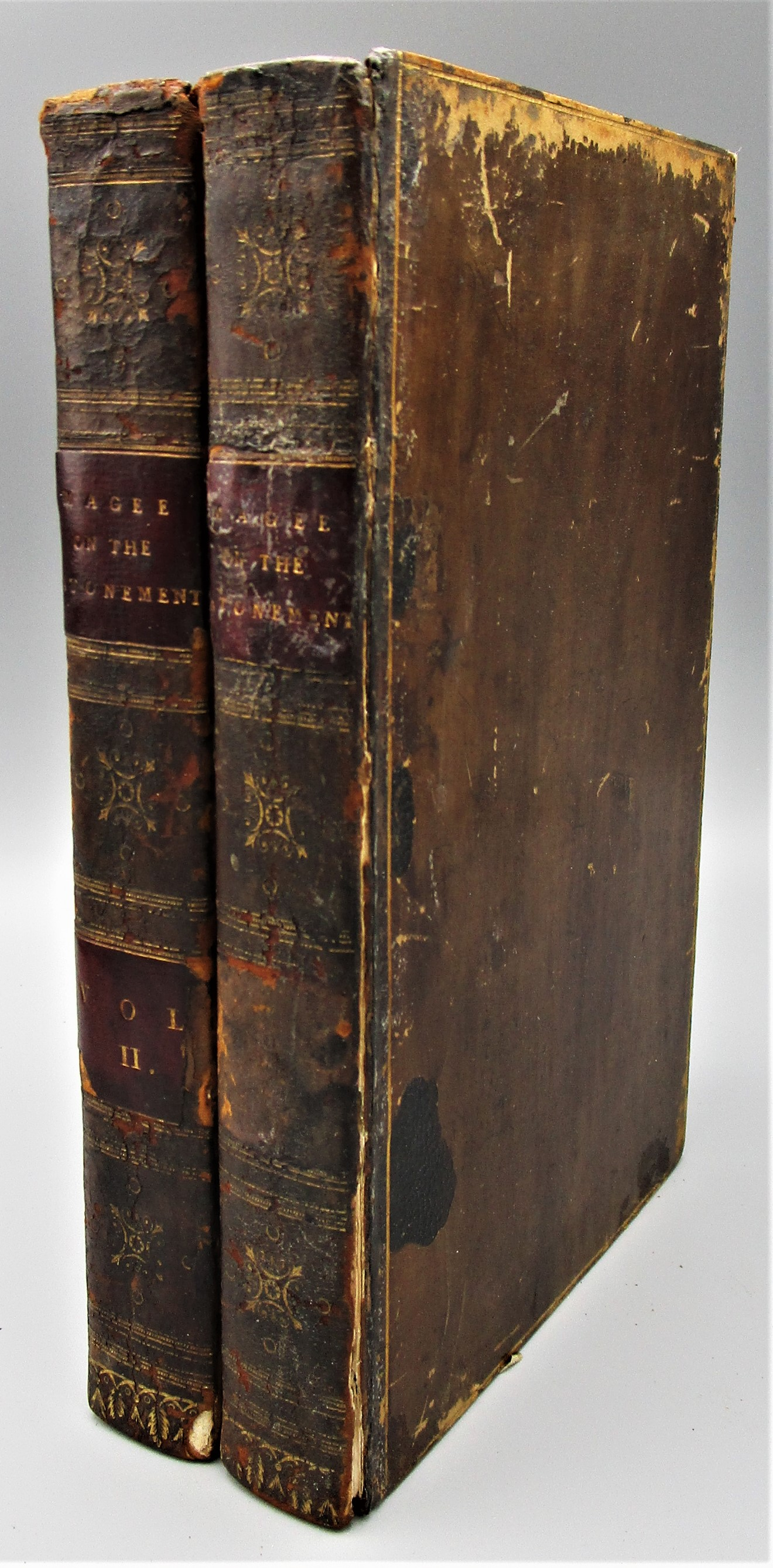 DISCOURSES ON THE DOCTRINES OF ATONEMENT & SACRIFICE, by Wm. Magee - 1809 [2 vols]