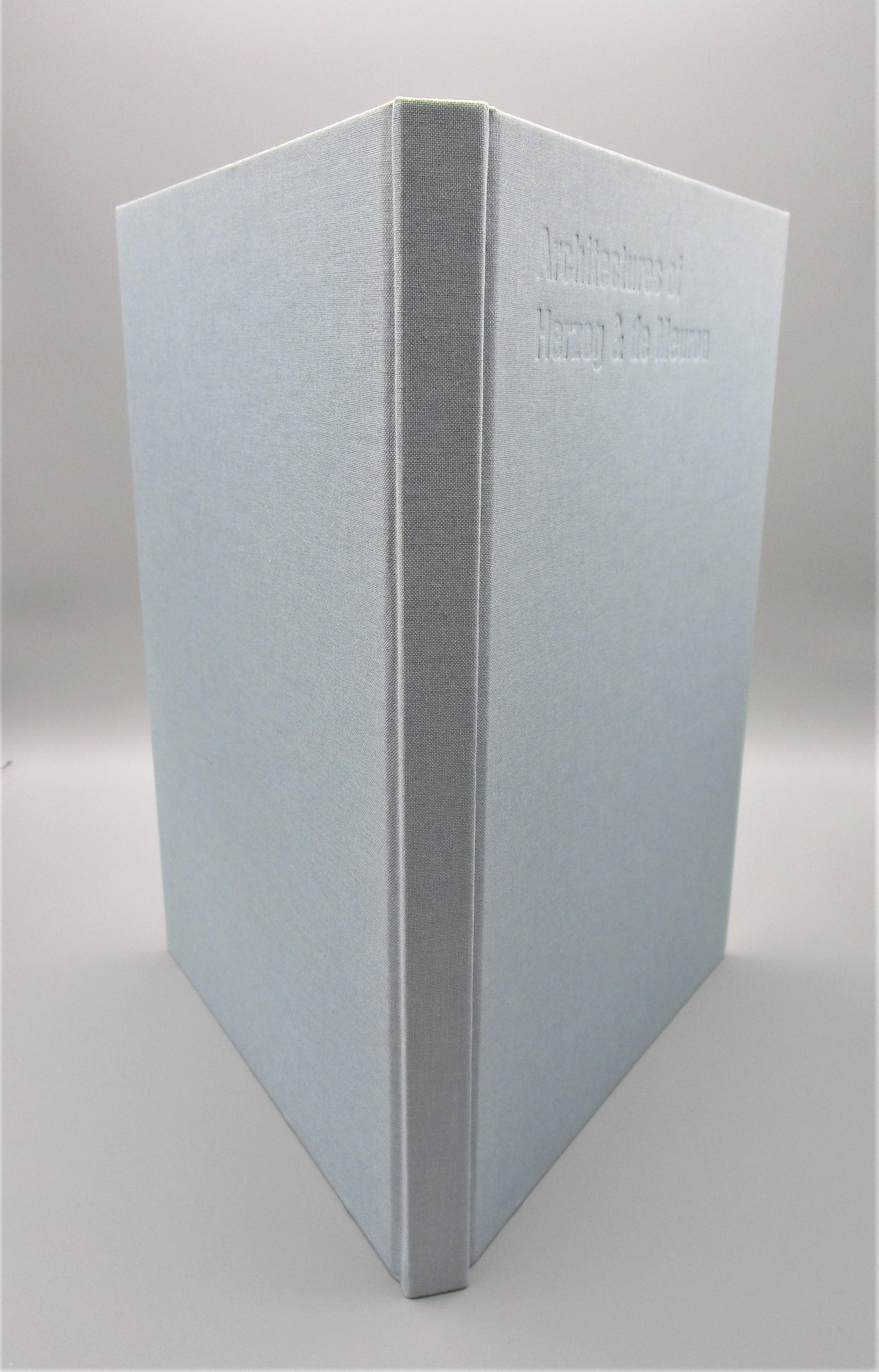 ARCHITECTURES OF HERZOG & DE MEURON, by Thomas Ruff - 1995 [2nd Ed]