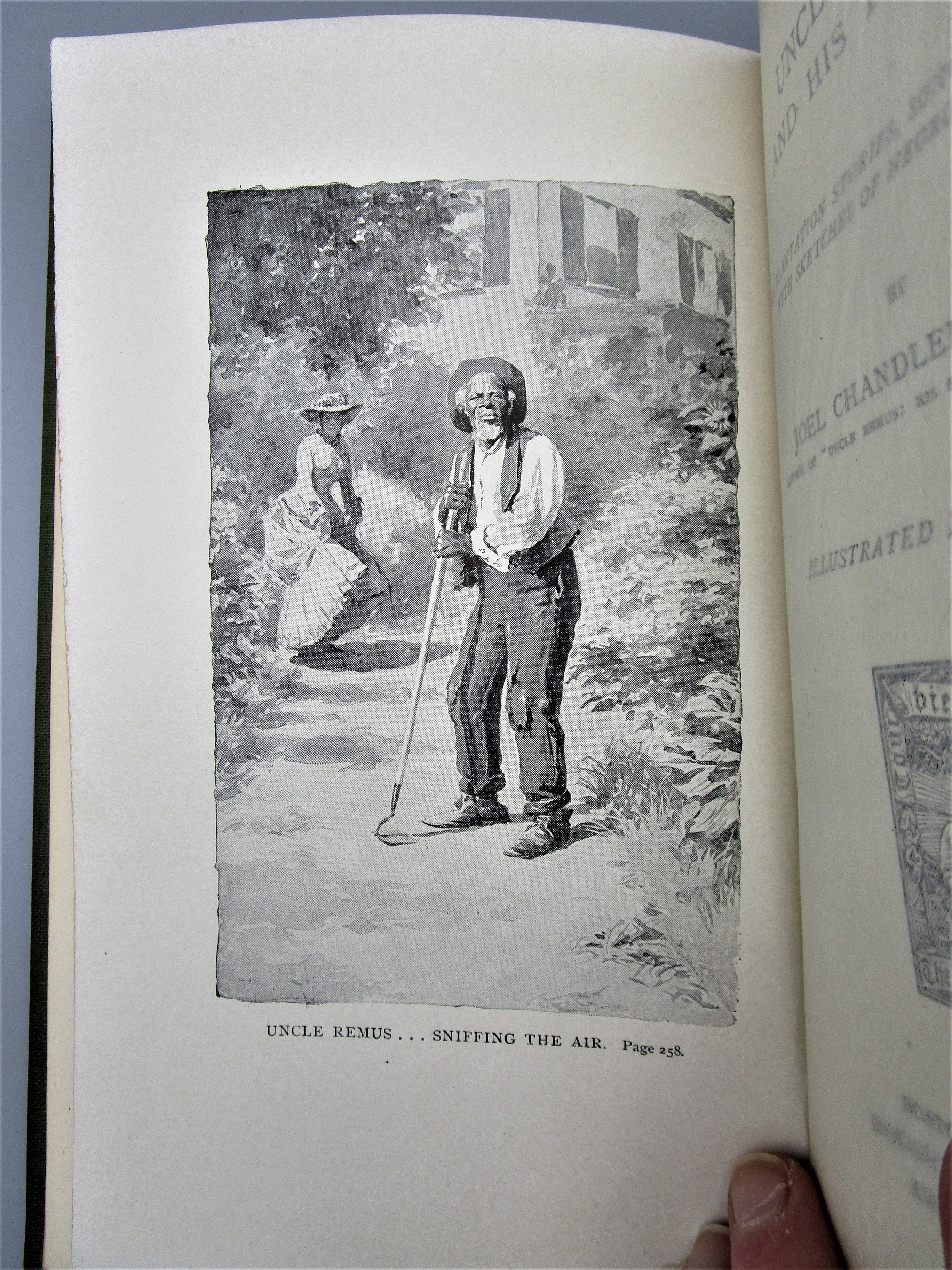 UNCLE REMUS AND HIS  FRIENDS, by Joel Chandler Harris - 1892 [1st Ed]