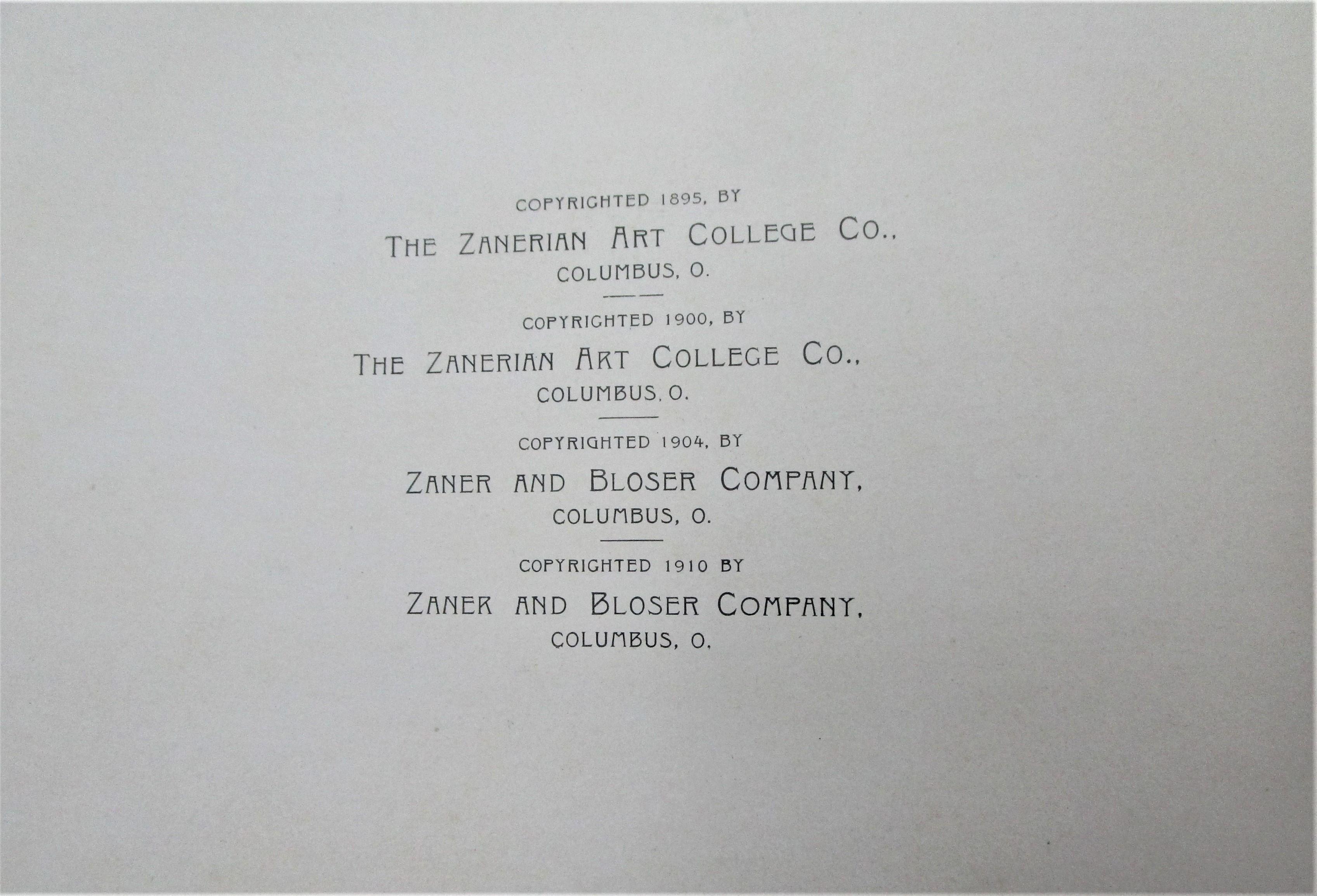 THE NEW ZANERIAN ALPHABETS, by C.P. Zaner - 1910