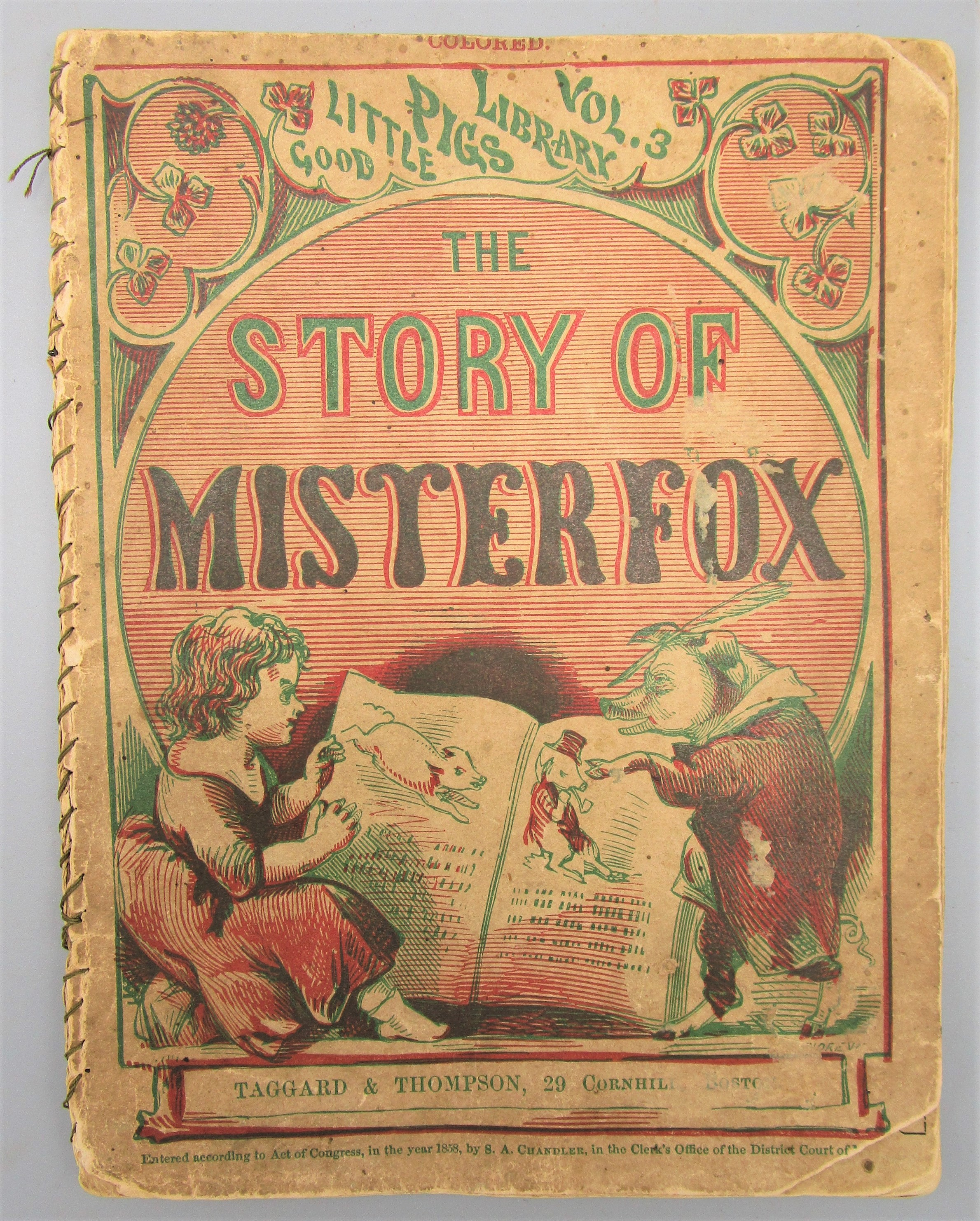 THE STORY OF MISTER FOX - 1858