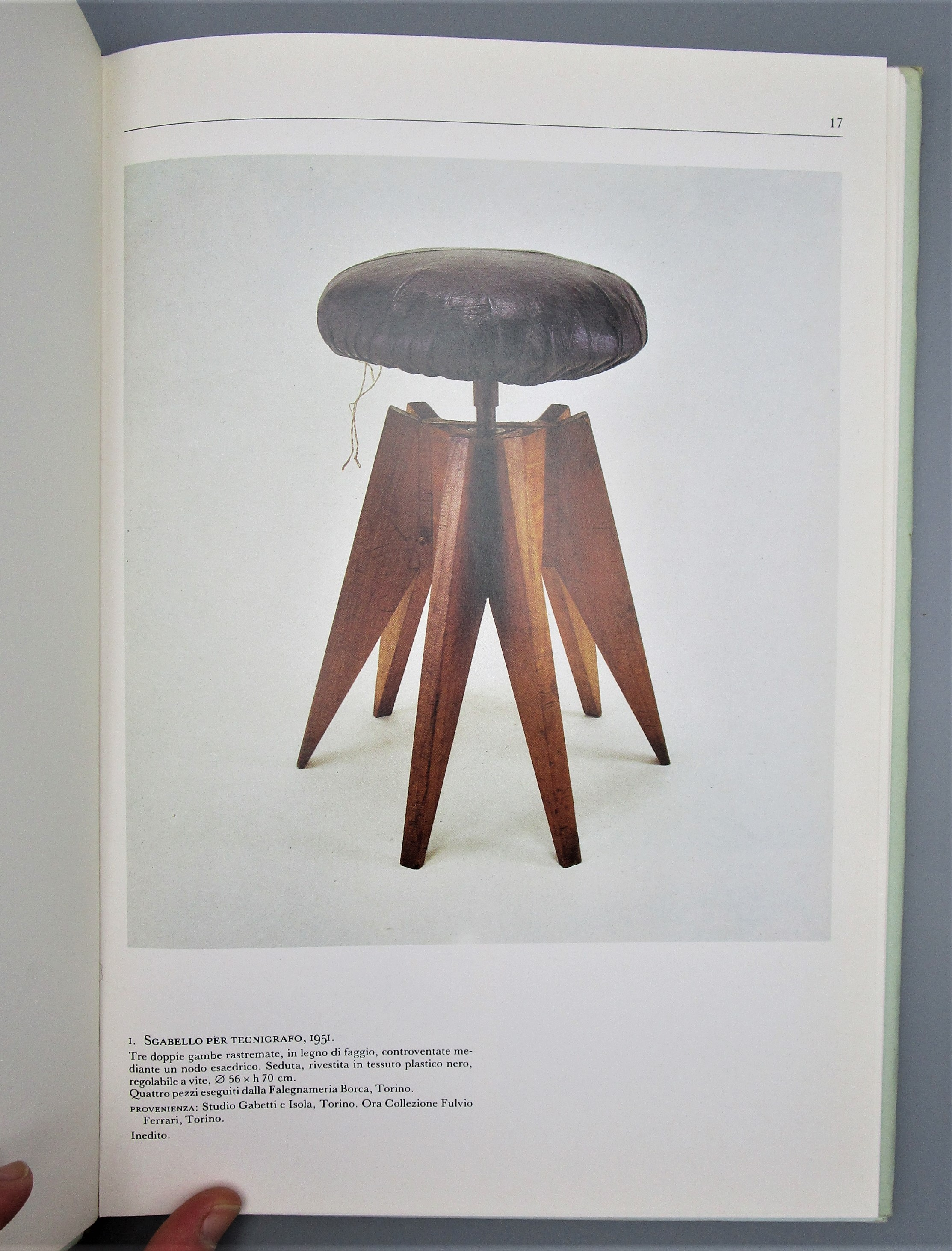 GABETTI E ISOLA MOBILI 1950-1970, by Fulvio Ferrari - 1986 [1st Ed]