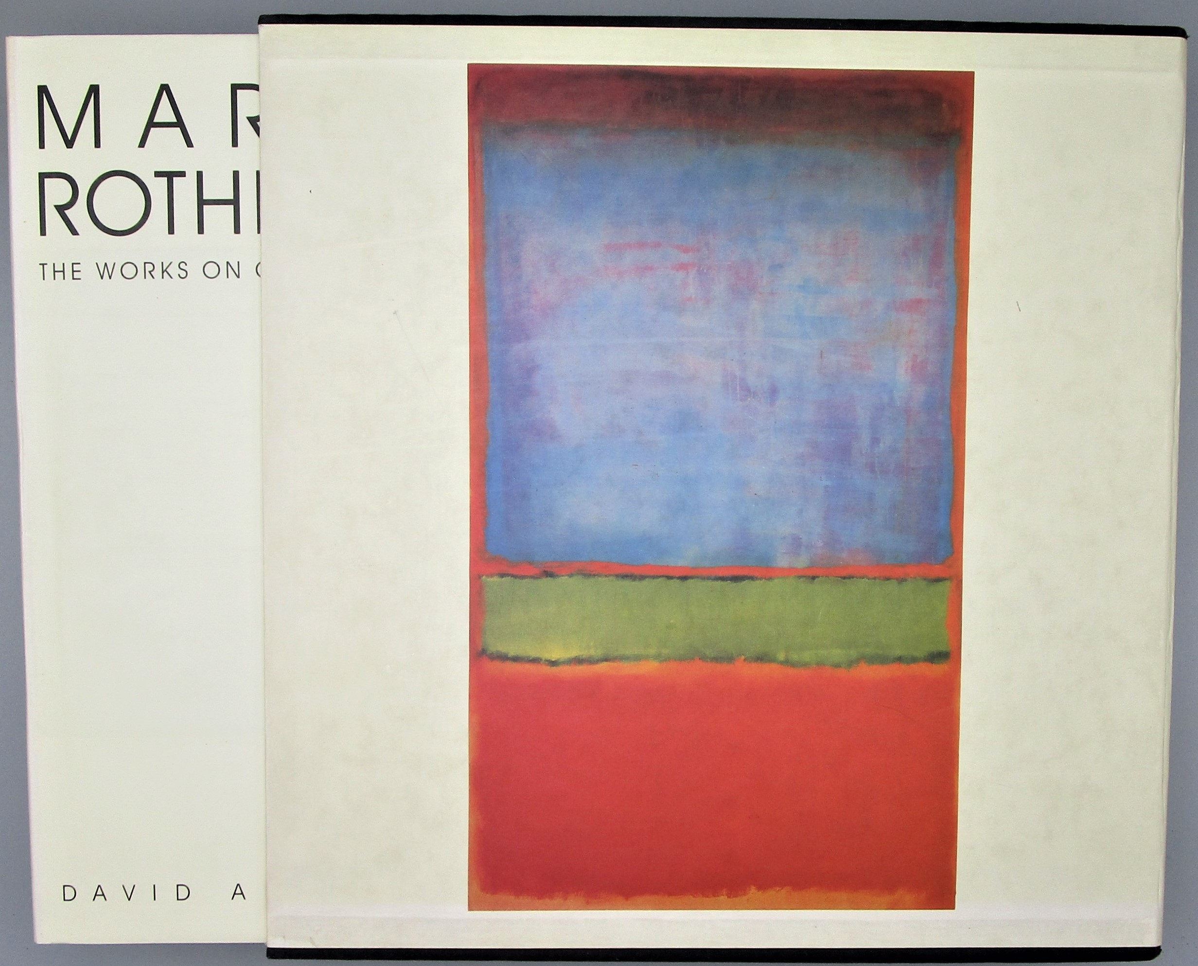 MARK ROTHKO: THE WORKS ON CANVAS, by David Anfam - 1998