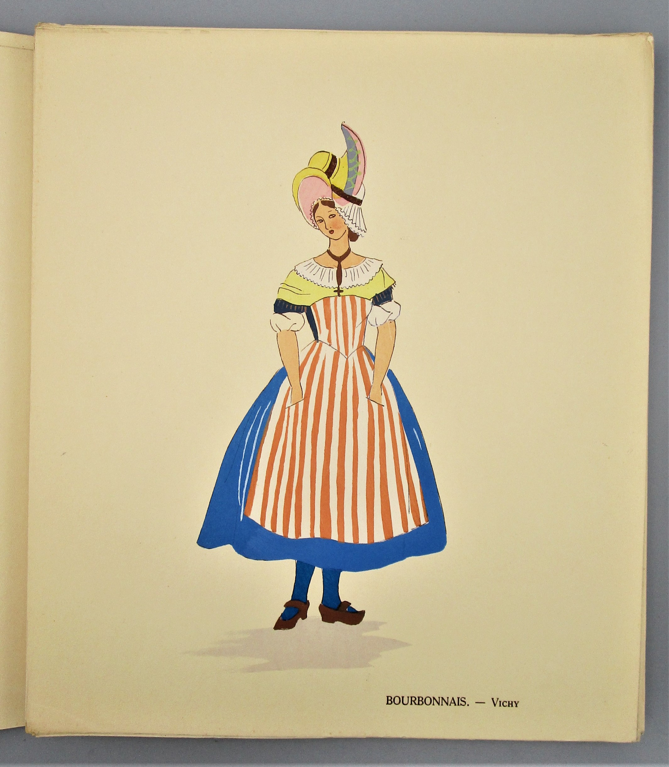 THE COSTUMES OF FRANCE, by Aline Keim - 1931
