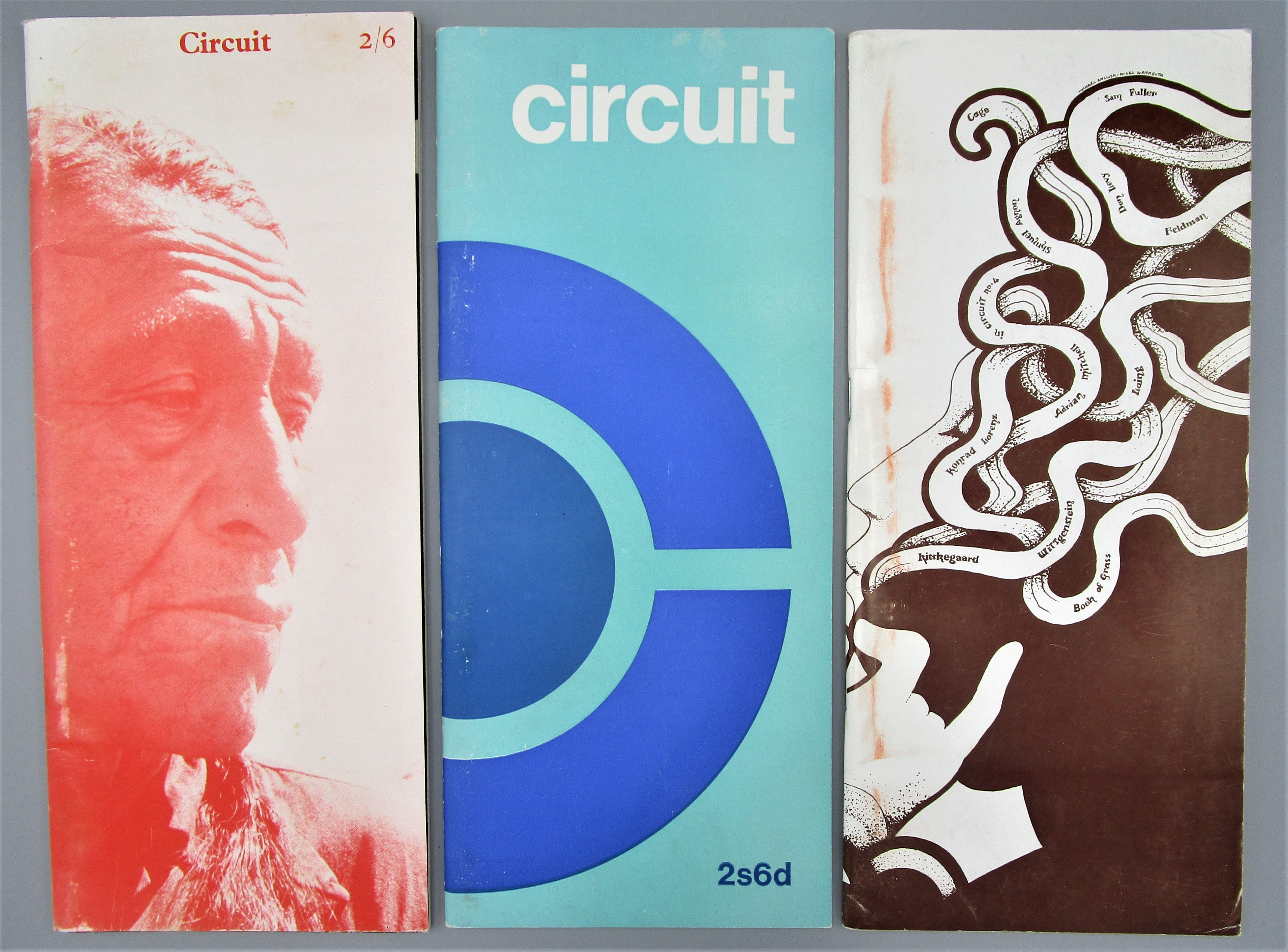 CIRCUIT ISSUES 3-5, by David Bieda  - 1966-1968