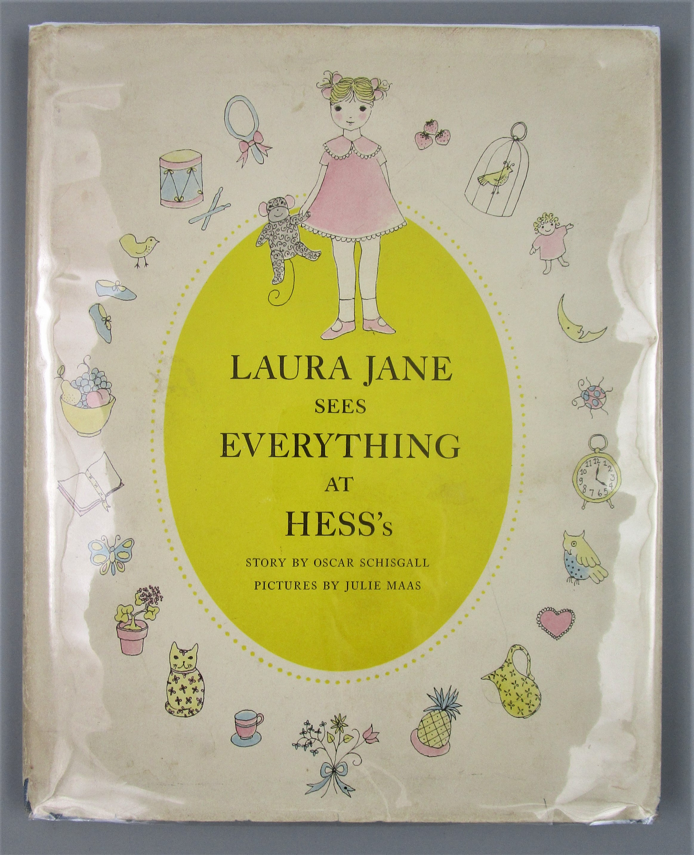 LAURA JANE SEES EVERYTHING AT HESS'S, by O. Schisgall & J. Maas - 1957 [1st Ed]