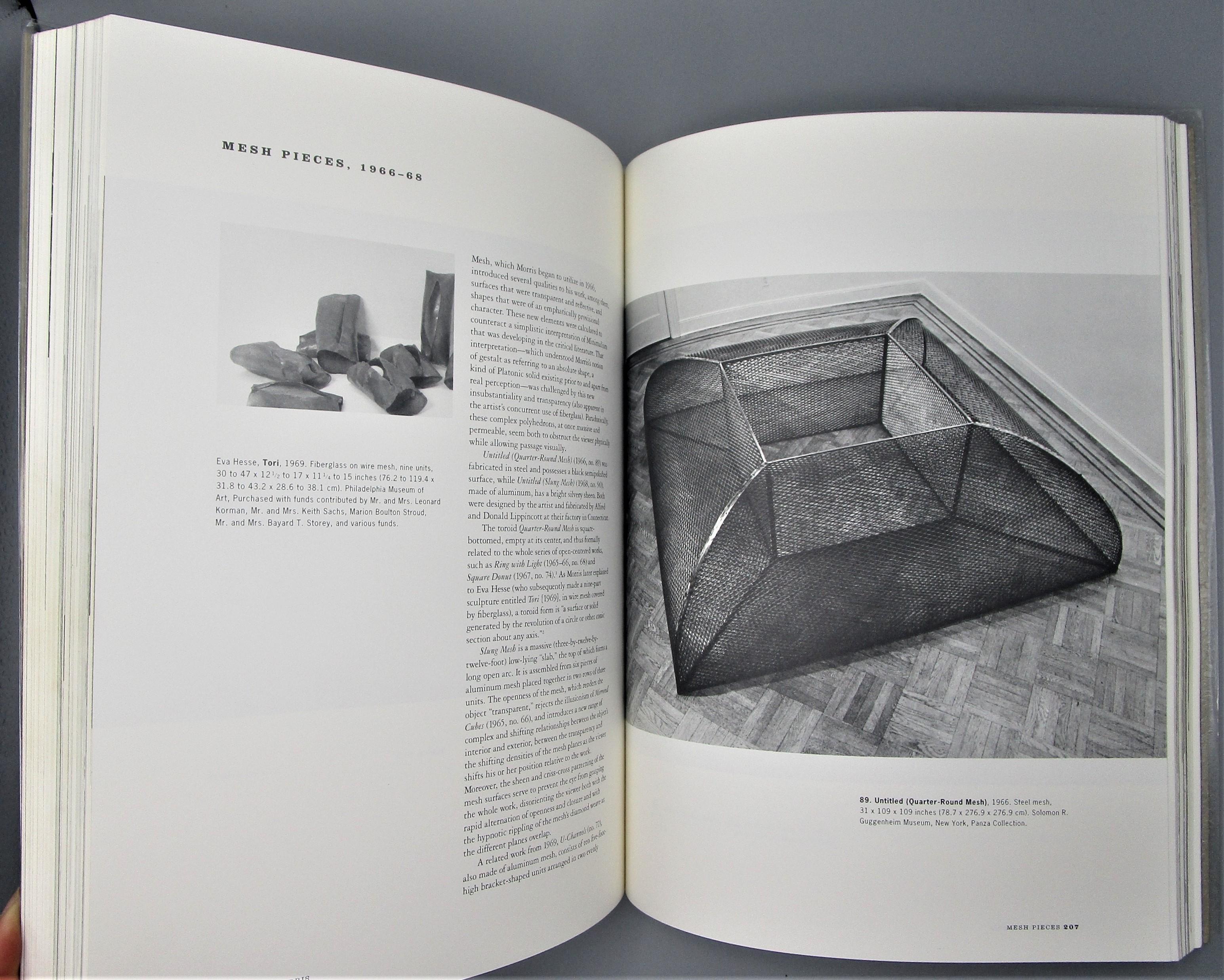 ROBERT MORRIS: THE MIND/BODY PROBLEM - 1994 [Signed]