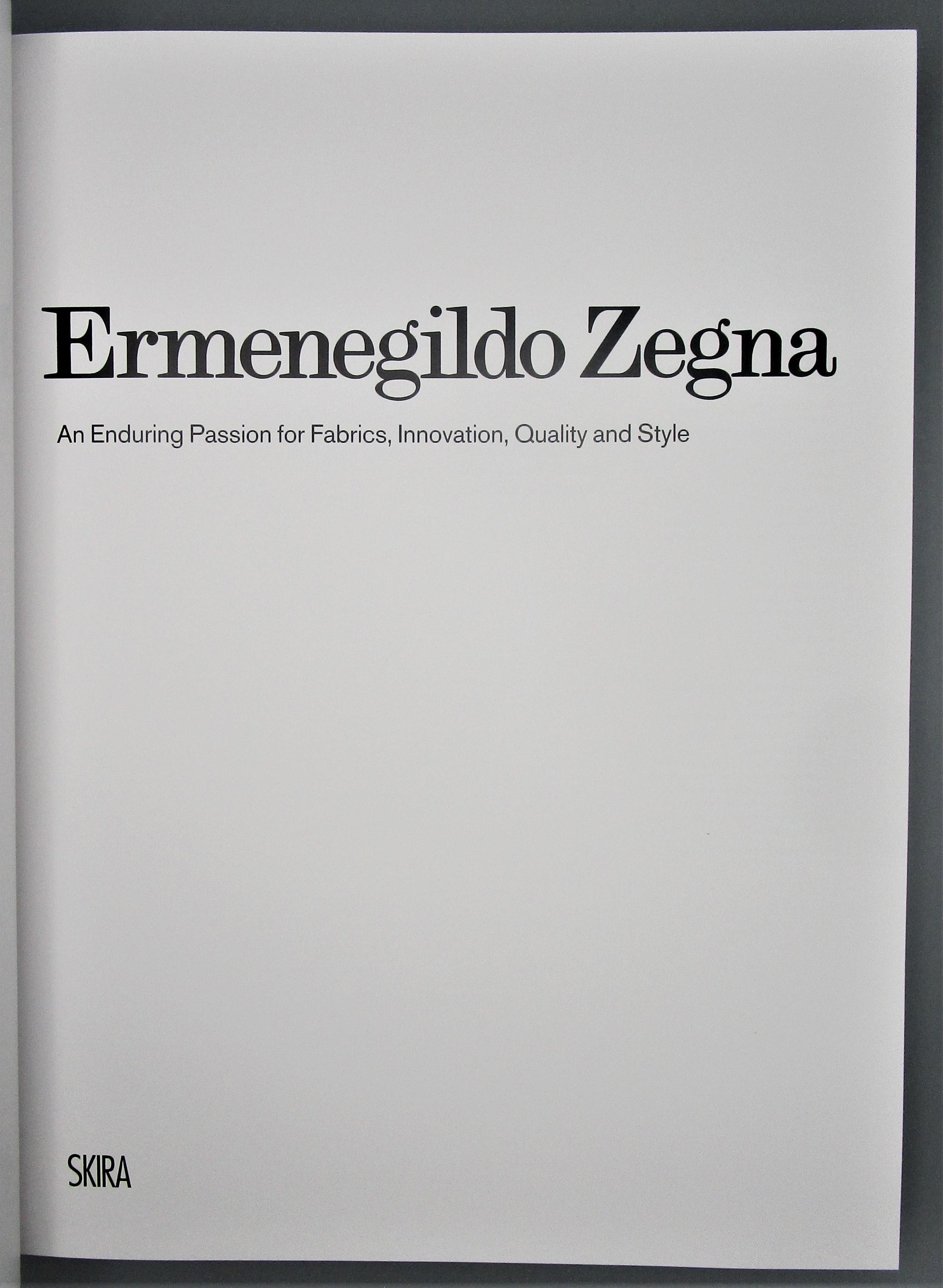 ERMENEGILDO ZEGNA - 2010 [1st Ed]