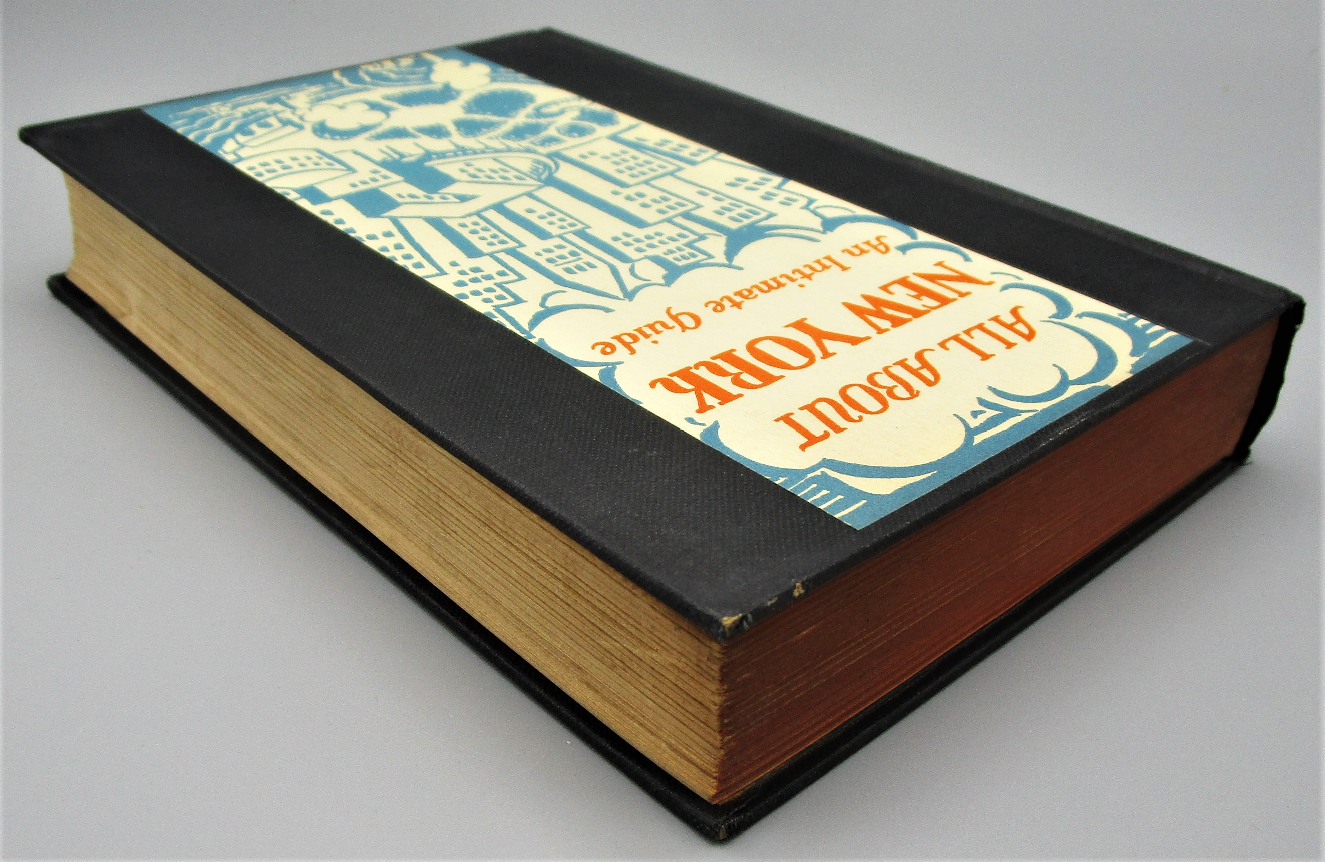 ALL ABOUT NEW YORK, by Rian James - 1931 [1st Ed]