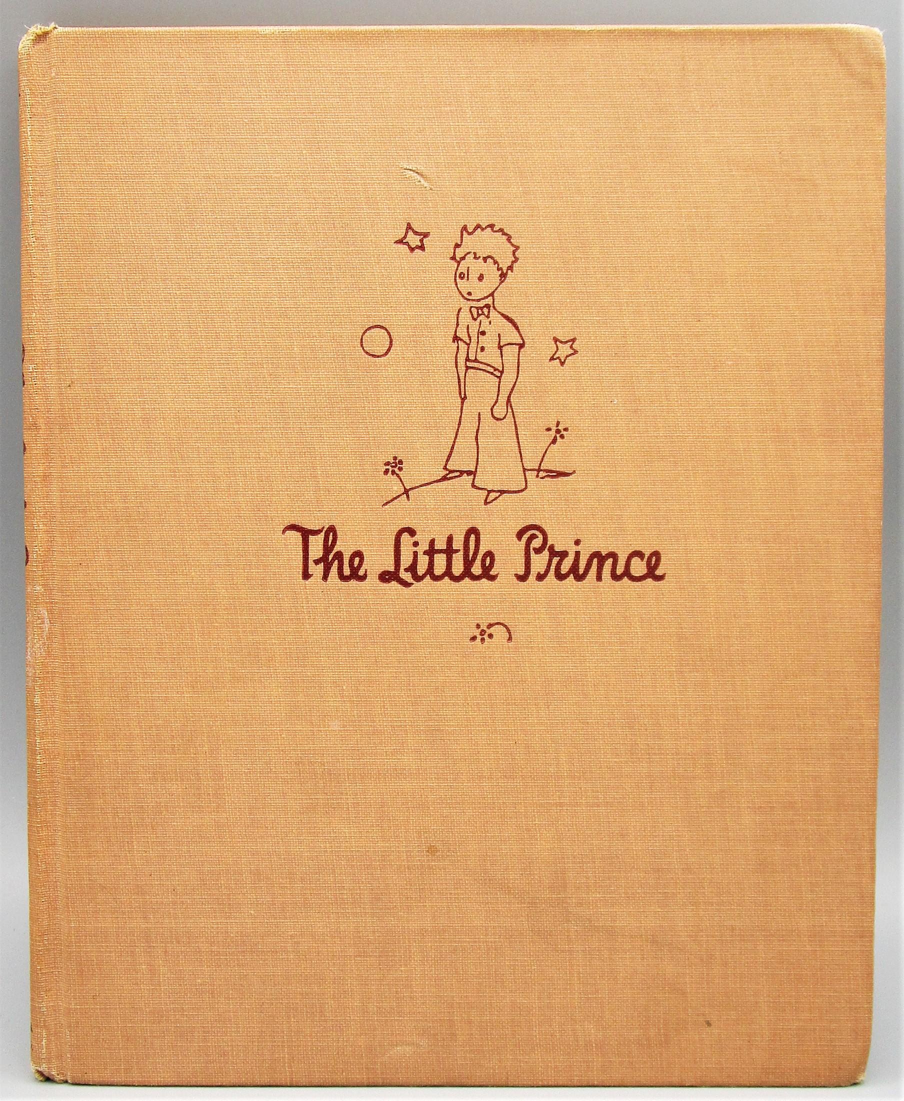 THE LITTLE PRINCE, by Antoine de Saint-Exupery - 1943 [1st Ed]