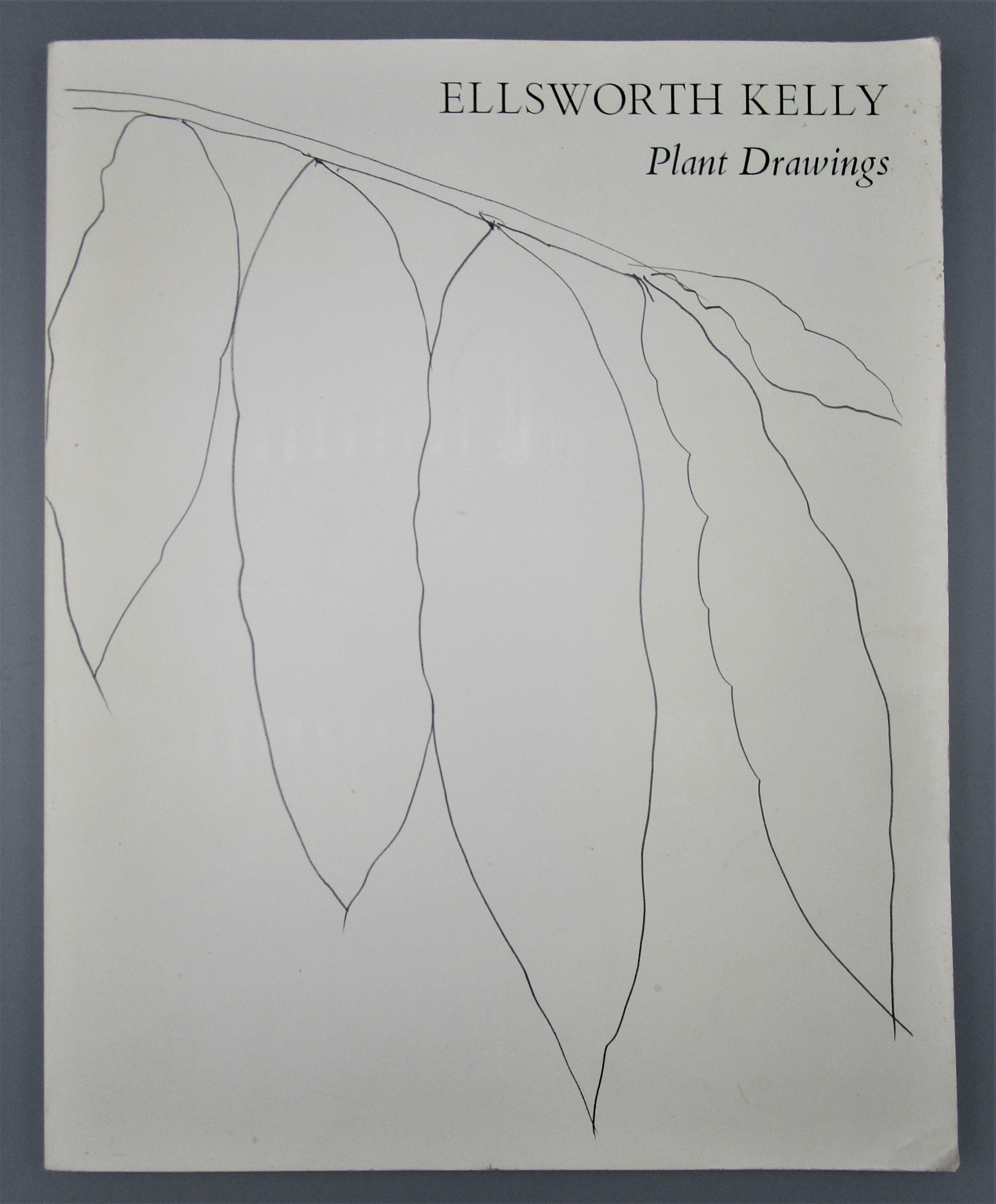 ELLSWORTH KELLY: PLANT DRAWINGS, by John Ashbery - 1992