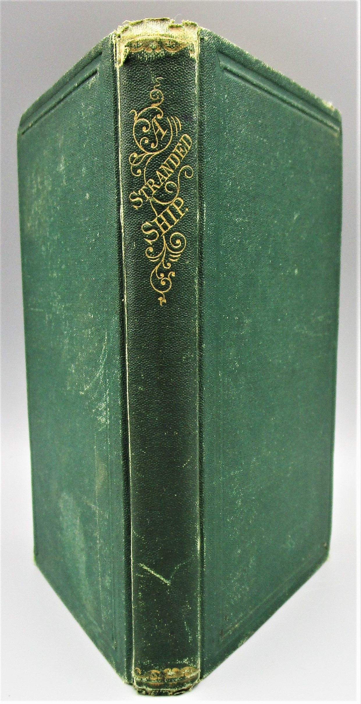 A STRANDED SHIP: A STORY OF SEA AND SHORE, by L. Clarke Davis - 1869 [1st Ed] *ephemera*