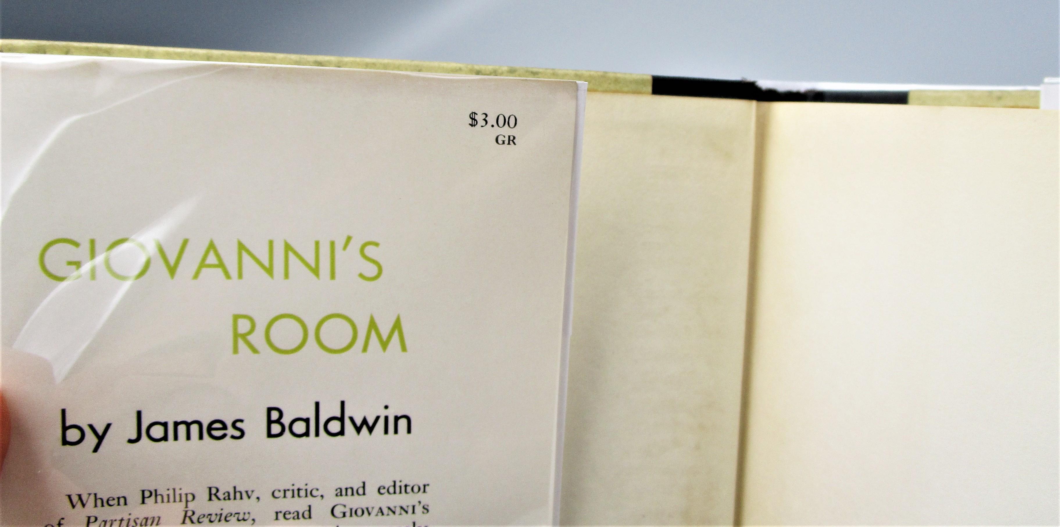 GIOVANNI'S ROOM, by James Baldwin - 1956 [1st US Ed]