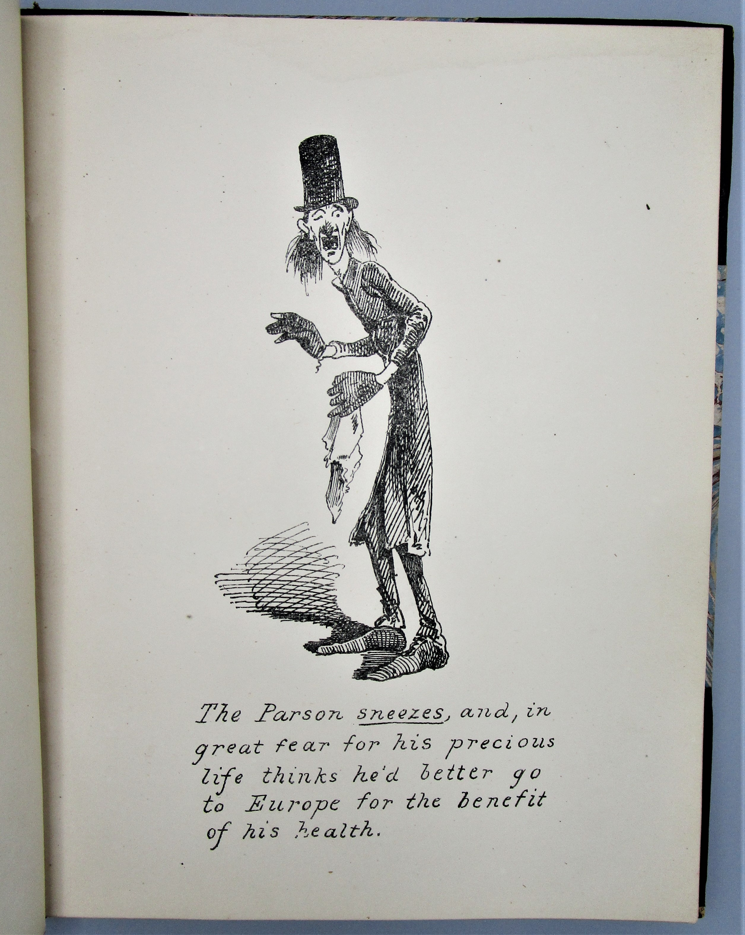 THE REVEREND MR SOURBALL'S EUROPEAN TOUR, by Horace Cope - 1867 [1st Ed]