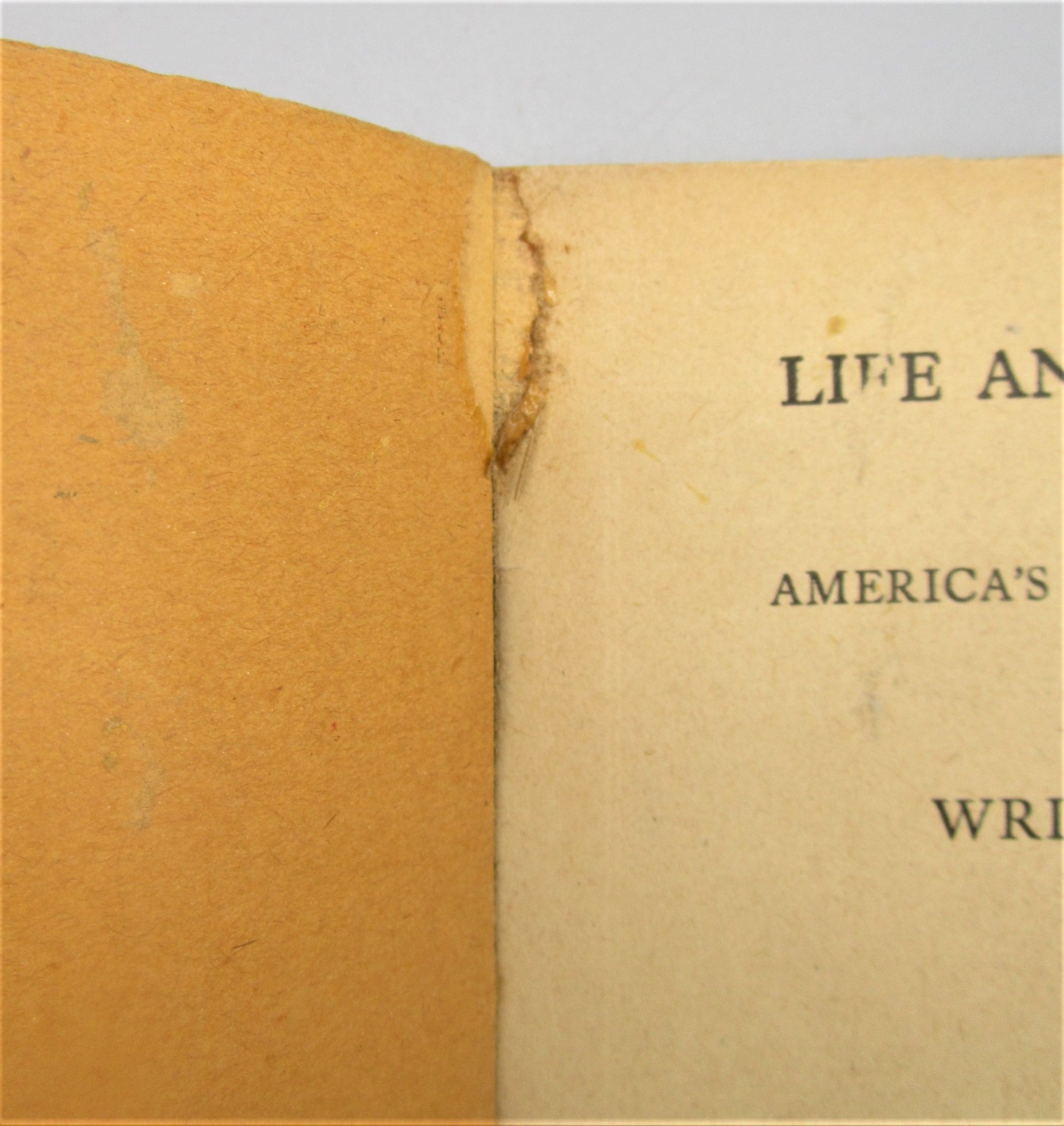 LIVE AND ADVENTURE OF A NO. 1, by Leon Ray Livingston - 1910 [4th Ed]