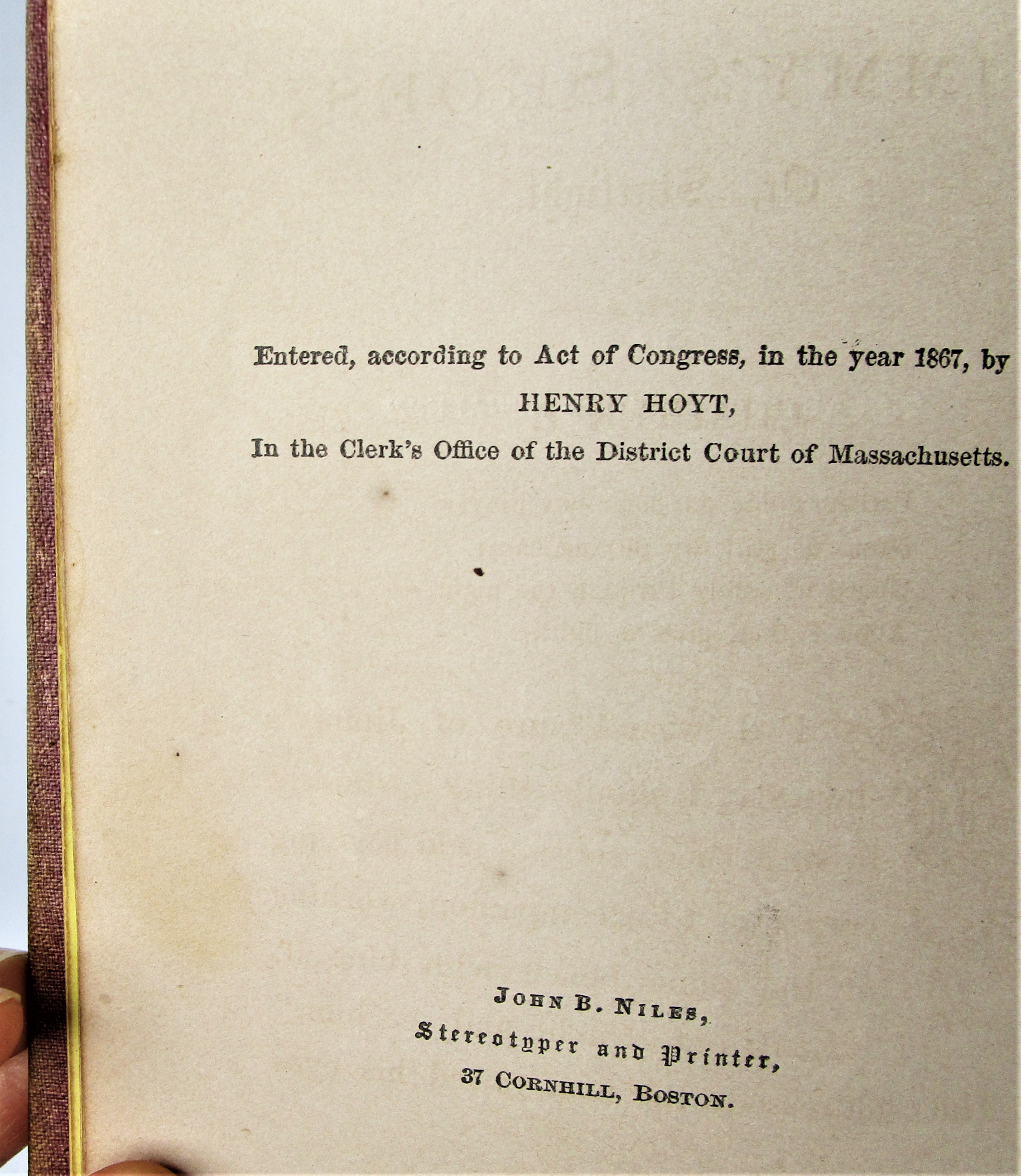 JIMMY'S SHOES: OR, STARLIGHT, by Mary Dwinell Chellis - 1867