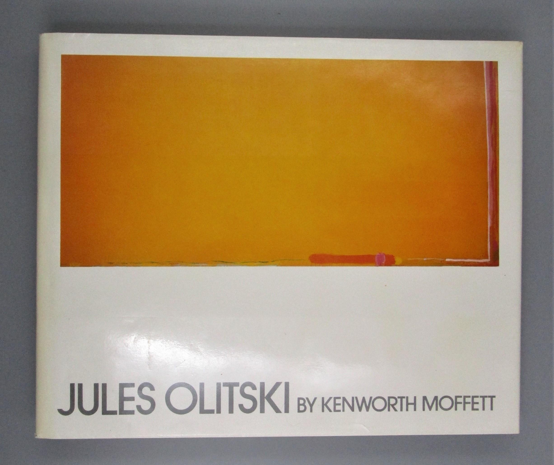JULES OLITSKI, by Kenworth Moffett - 1981