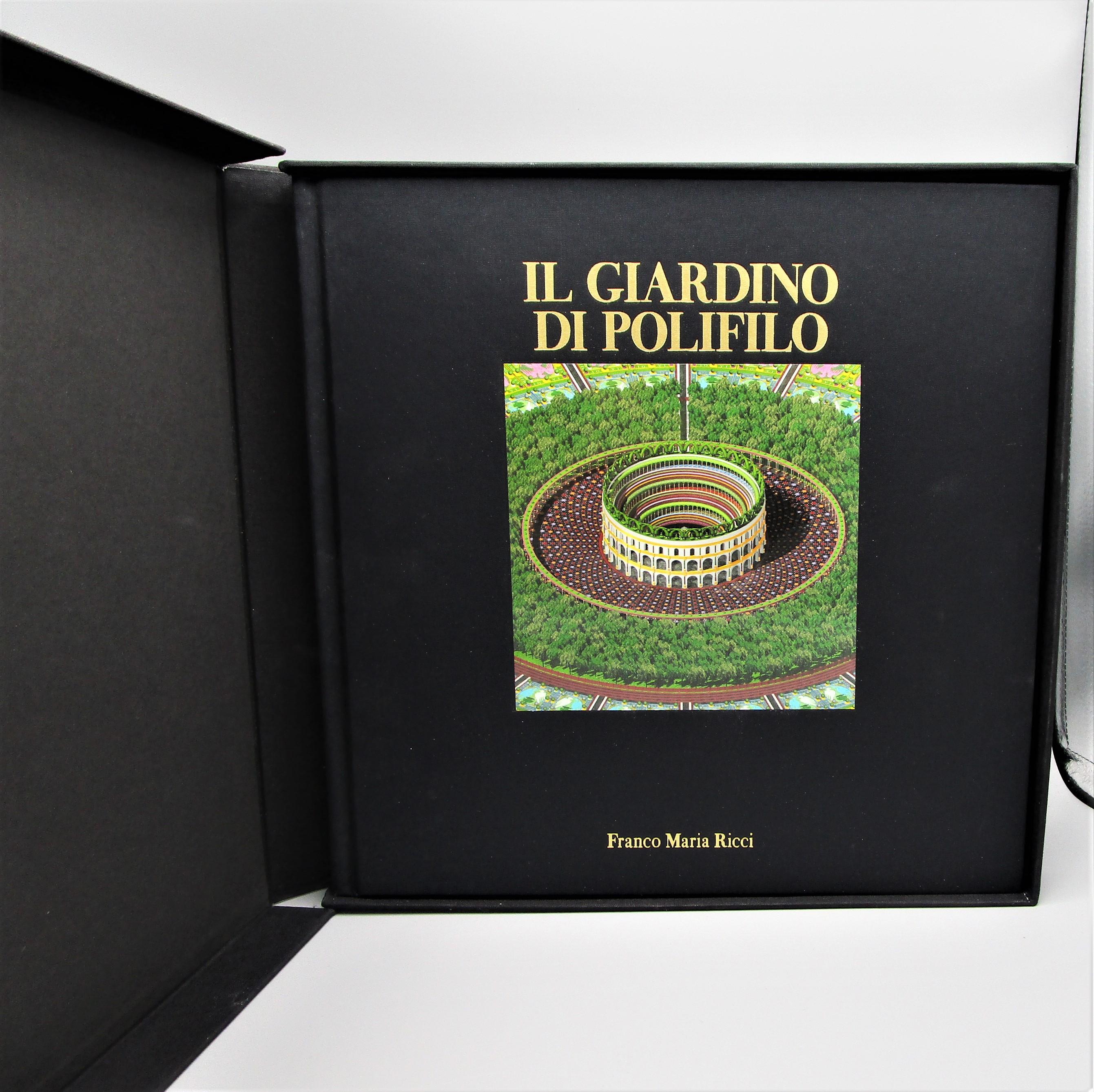 IL GIARDINO DI POLIFILO, by Franco Maria Ricci - 2002 [1st Ed]