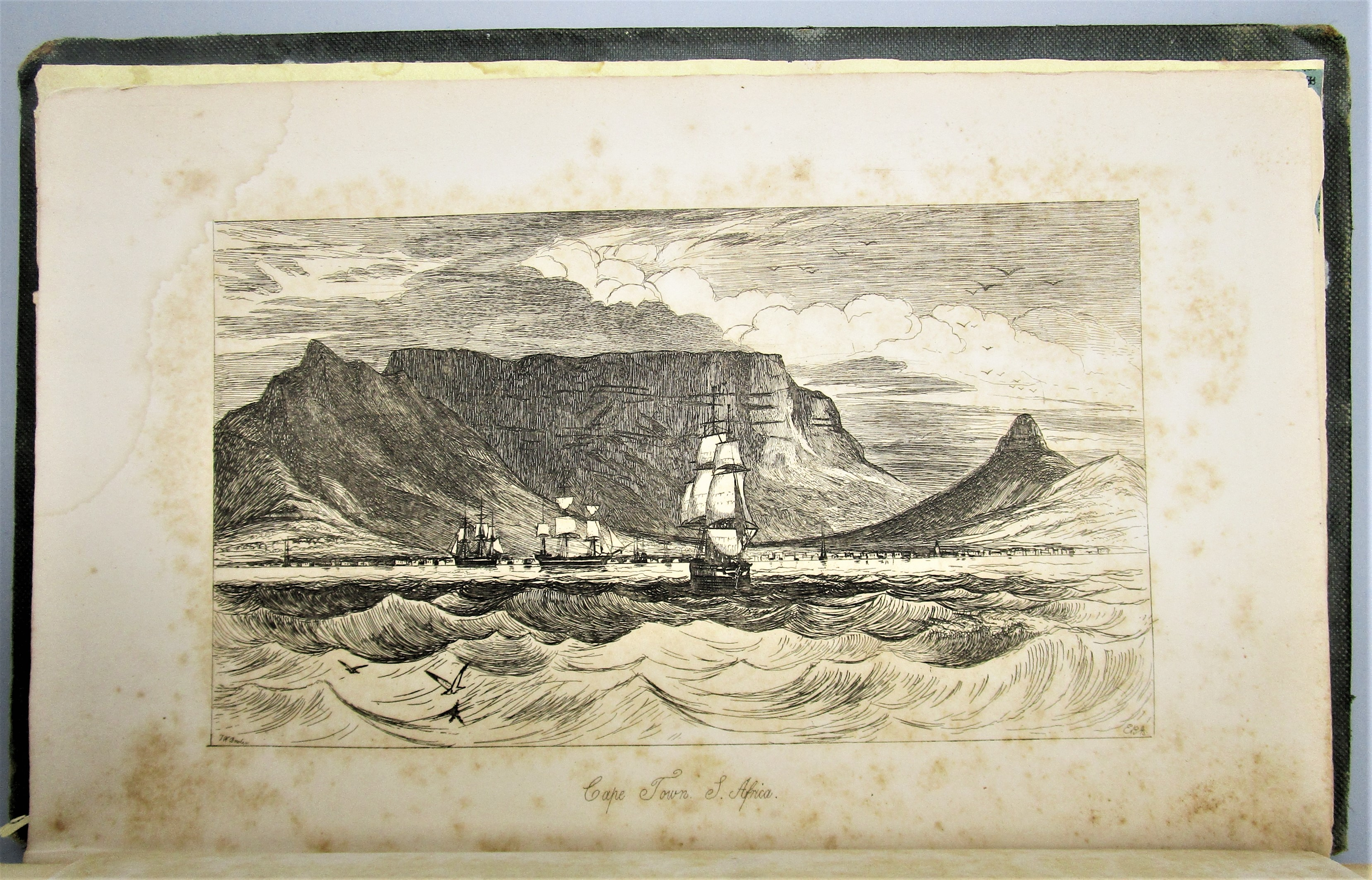 NARRATIVE OF A VISIT TO THE MAURITIUS AND S. AFRICA, by James Backhouse - 1844 [1st Ed]*Maps*