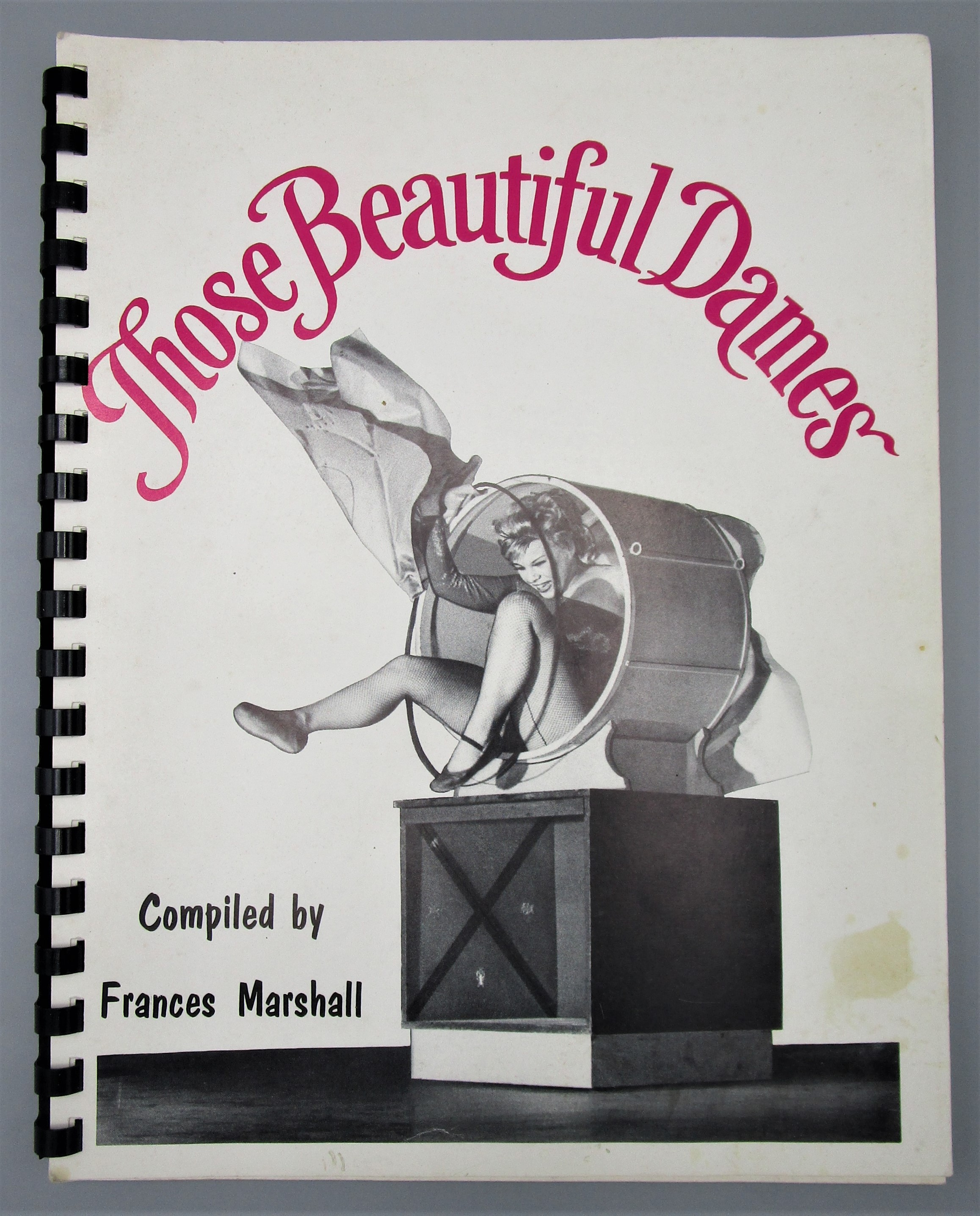 THOSE BEAUTIFUL DAMES, by Frances Marshall - 1984 [Signed]