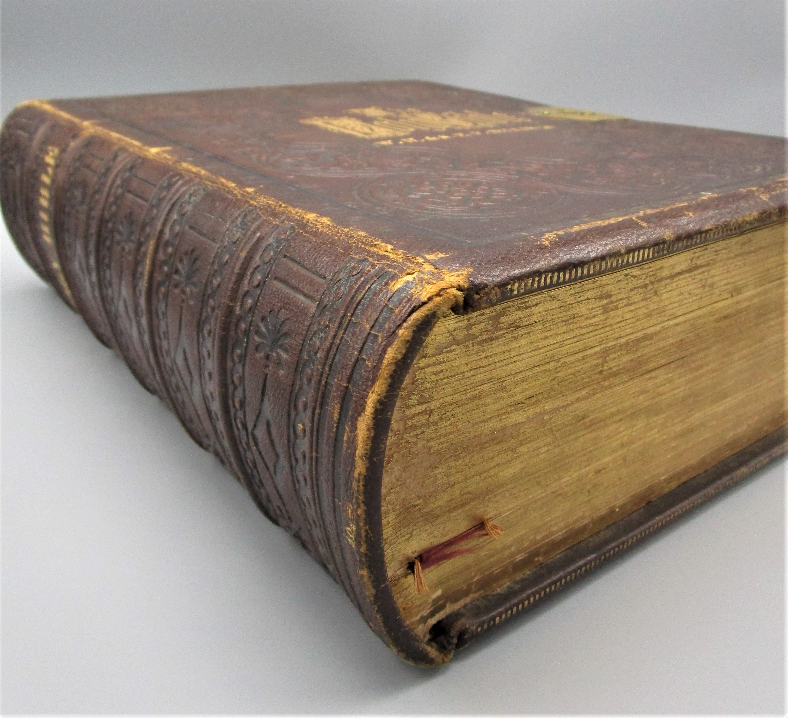 BILLINGS FAMILY BIBLE, by William W. Harding - 1871