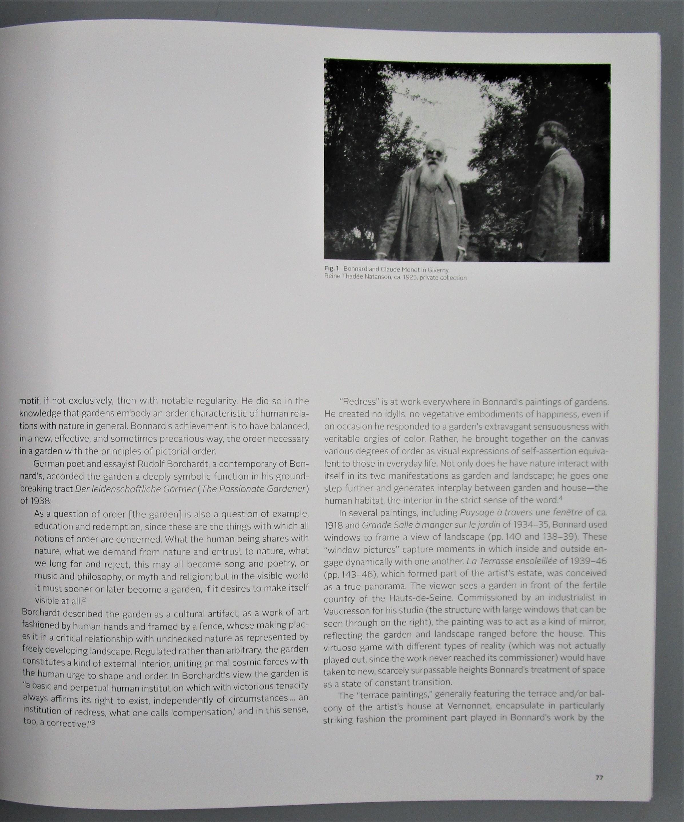PIERRE BONNARD, by Fondation Beyeler - 2012