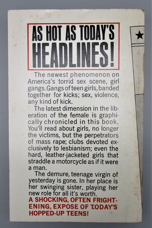 GIRL GANGS, by Barbara Hoffman - 1968