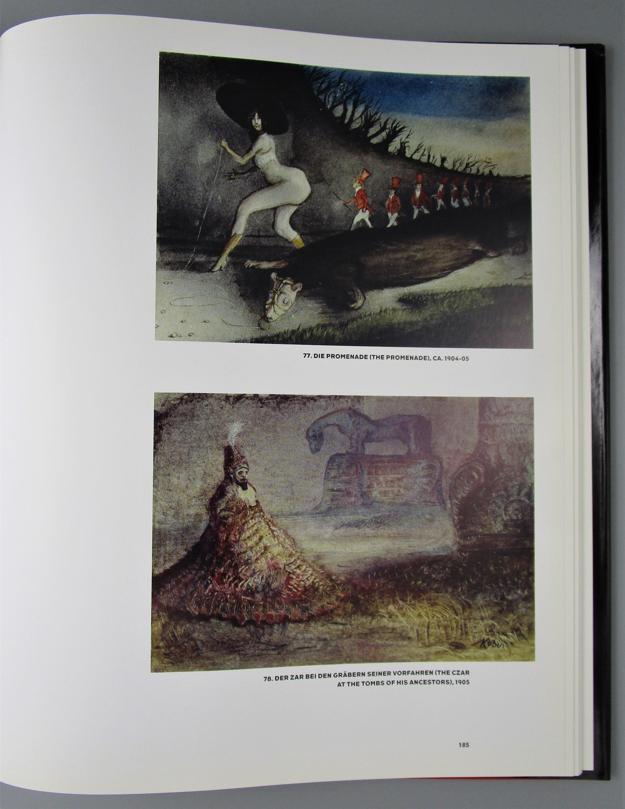 ALFRED KUBIN DRAWINGS 1897 - 1909, by Annegret Hoberg - 2008