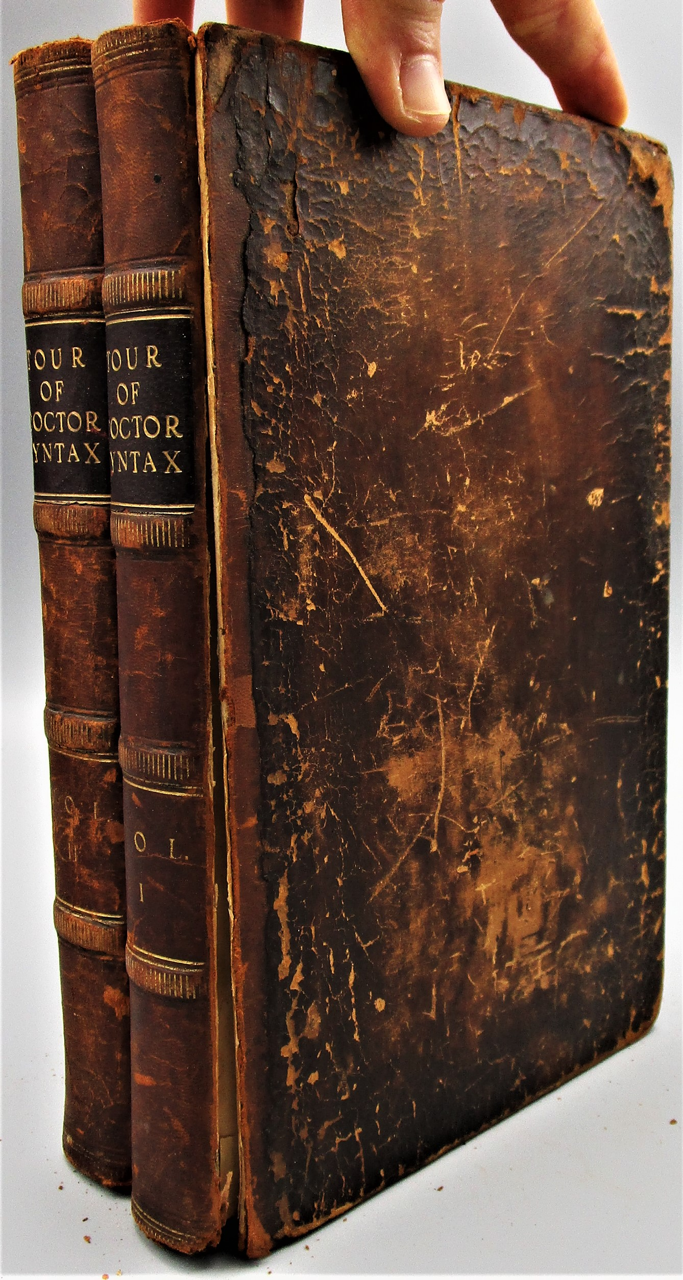 THE TOURS OF DOCTOR SYNTAX, by William Combe - 1813 [1st Ed; 2 Vols]