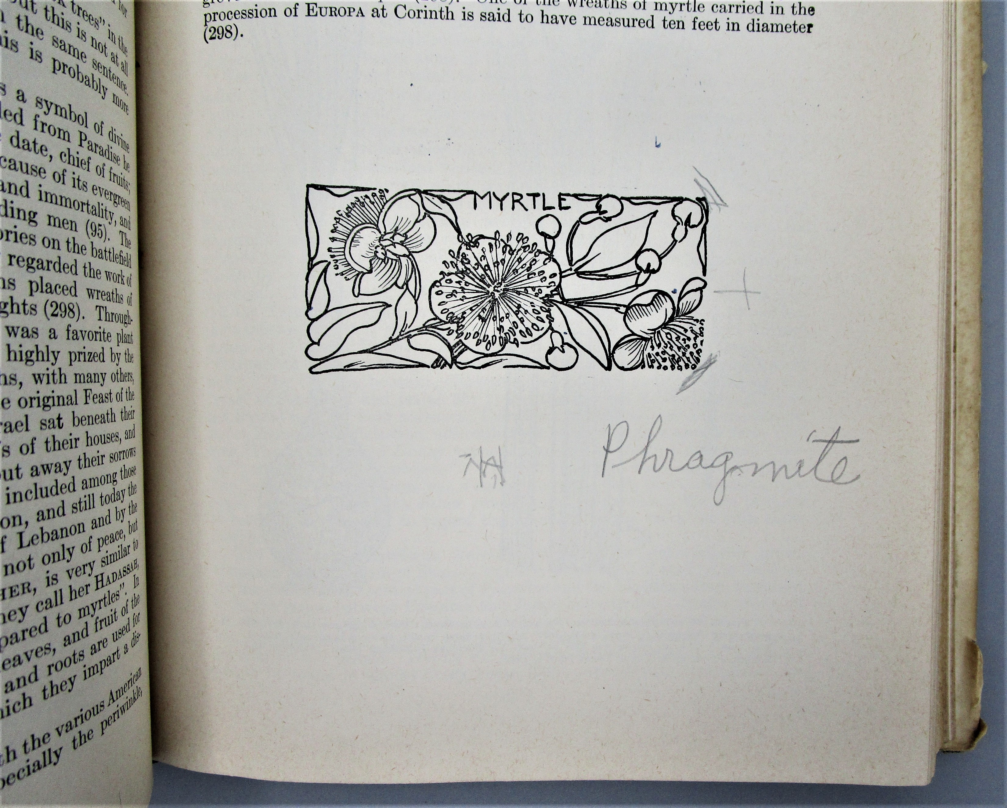 PLANTS OF THE BIBLE, by Harold & Alma Moldenke - 1952  [Signed 1st Ed]