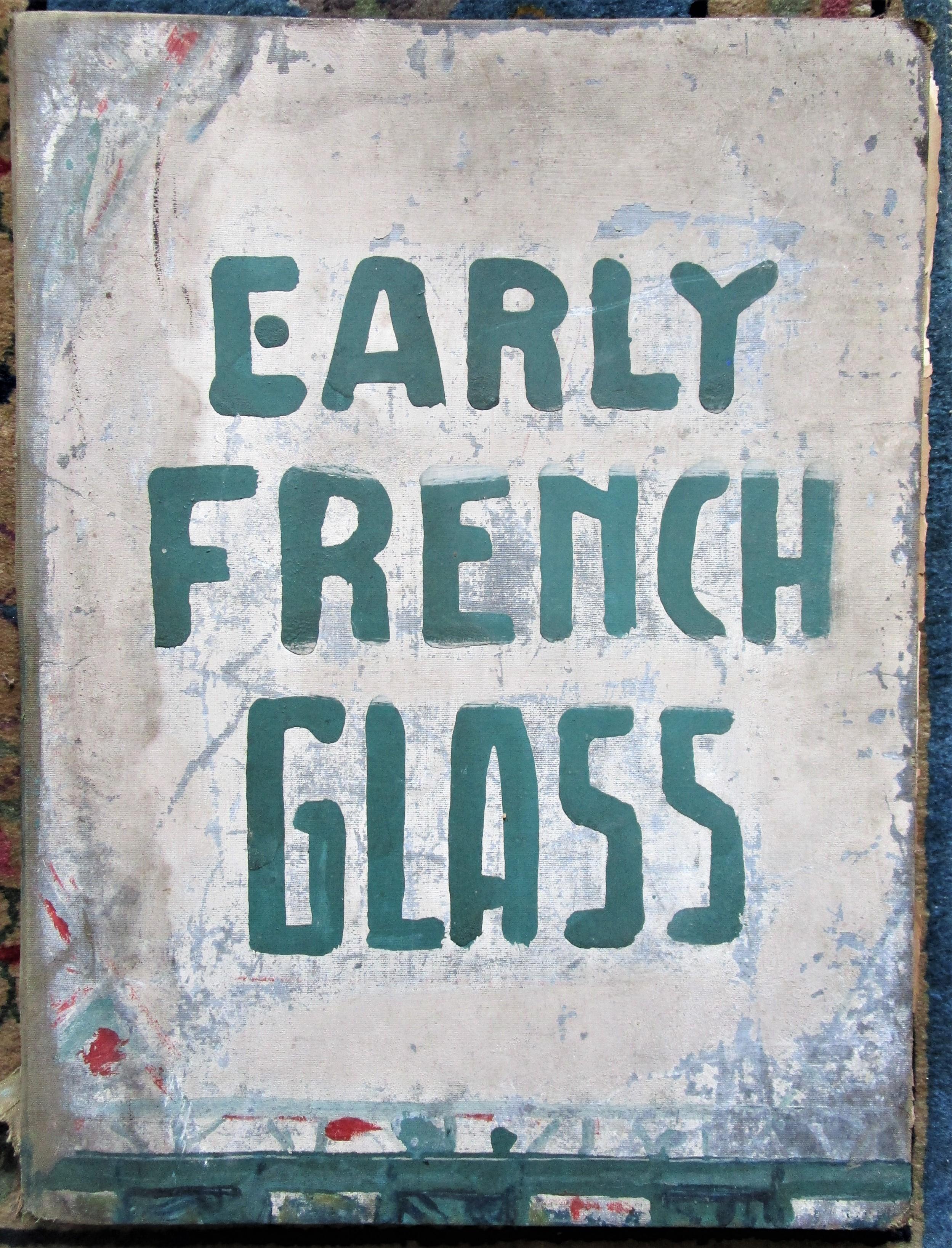 EARLY FRENCH GLASS, by M. Eugene Hucher - 1865 [elephant folio]