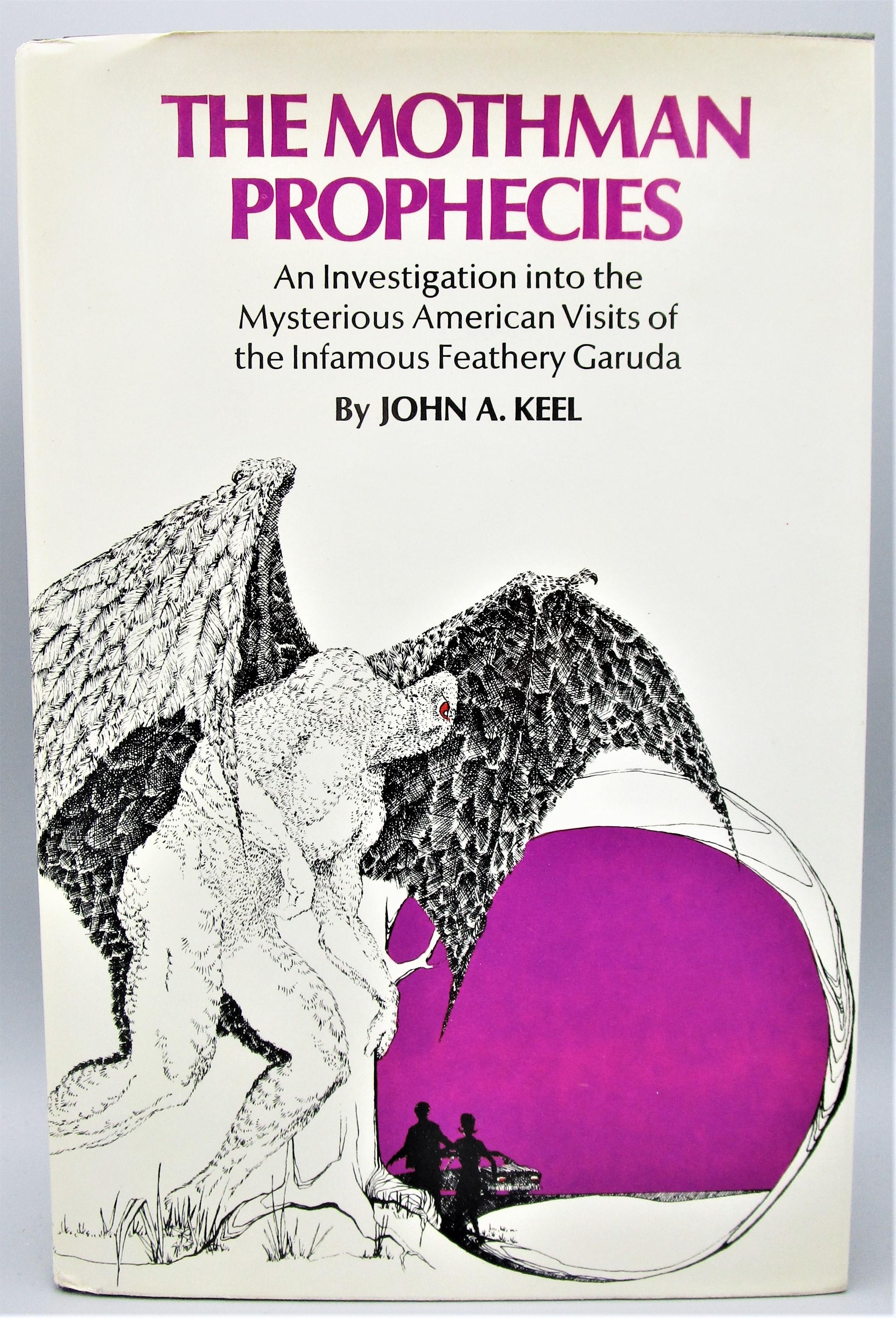 THE MOTHMAN PROPHECIES, by John A. Keel - 1975 [Review Copy] *ephemera*