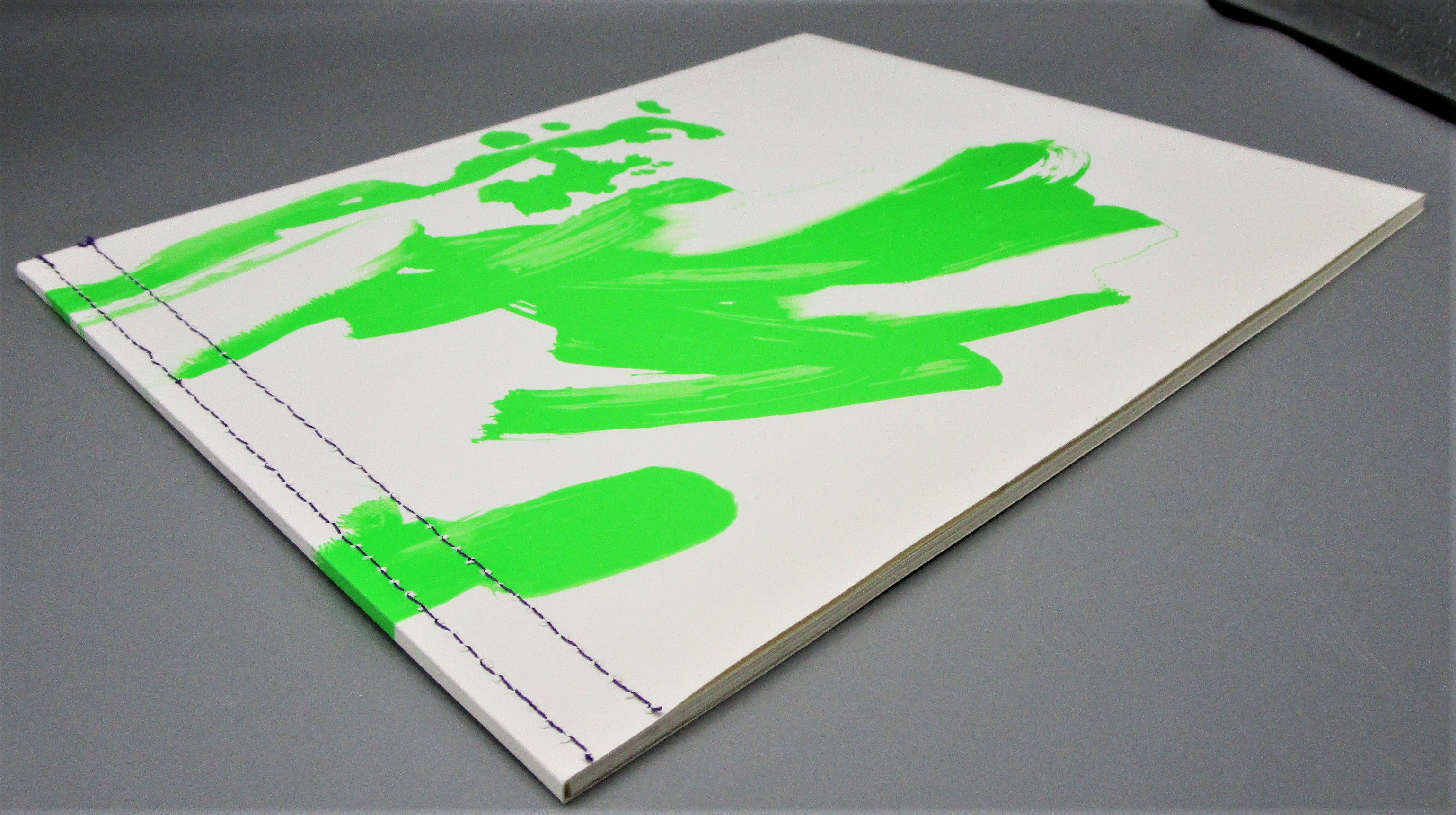 BLACK LIGHT PAINTINGS, by Jacqueline Humphries - 2005 [1st Ed + Poster]
