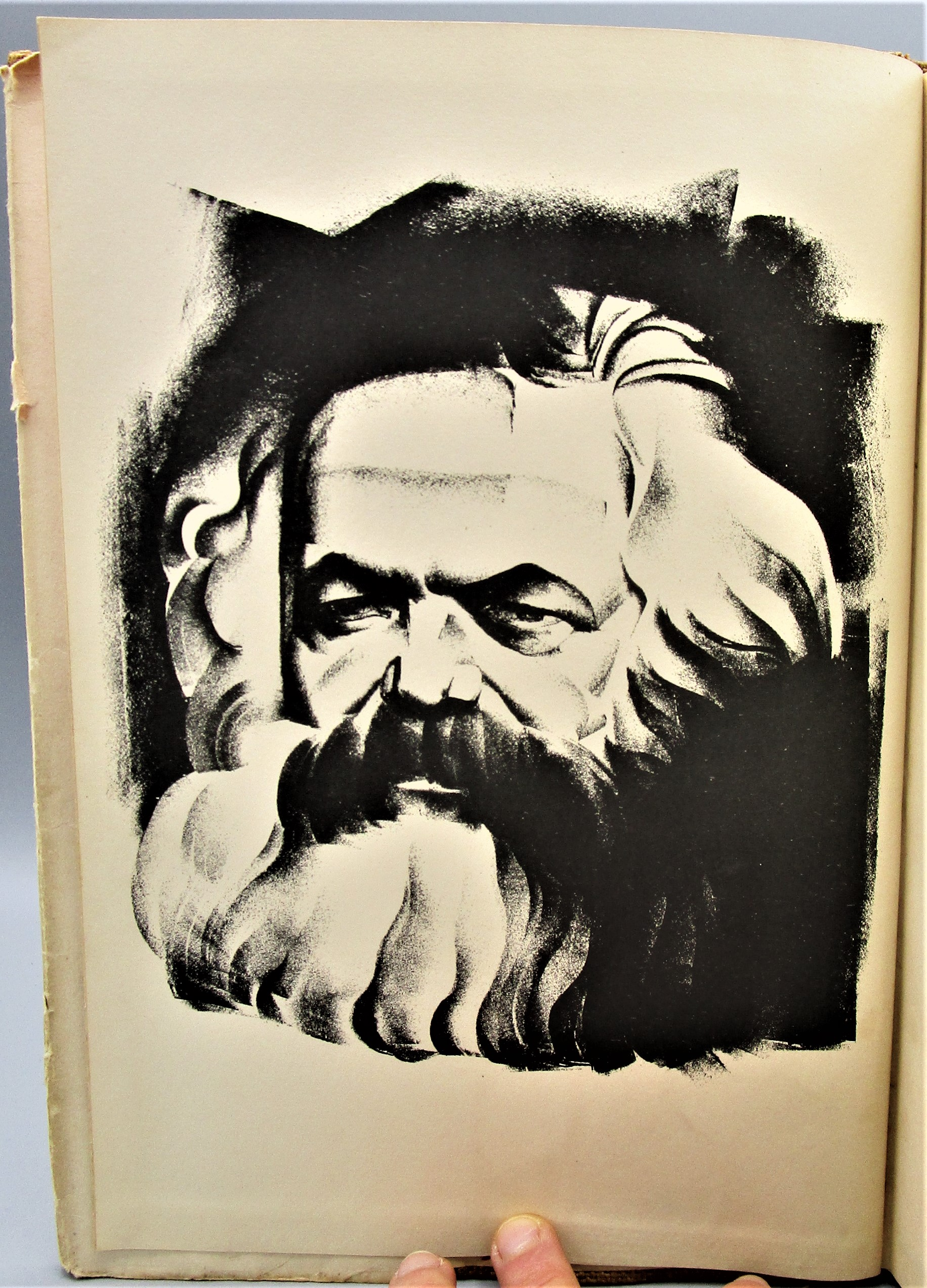 Karl Marx' CAPITAL, In LITHOGRAPHS by Hugo Gellert - 1934 [1st Ed]