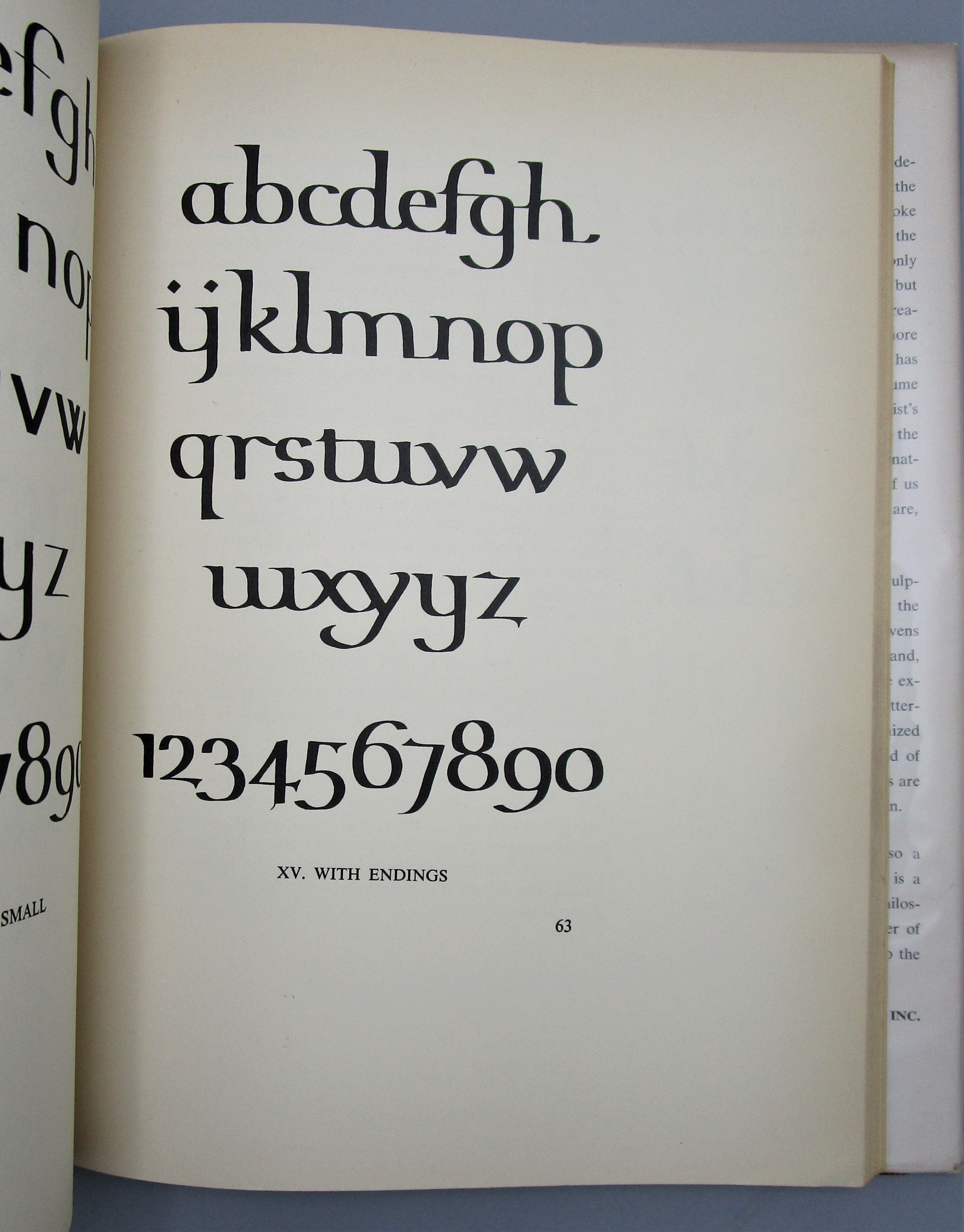 THE ELEMENTS OF LETTERING, by Benson & Carey - 1950 [2nd Ed]