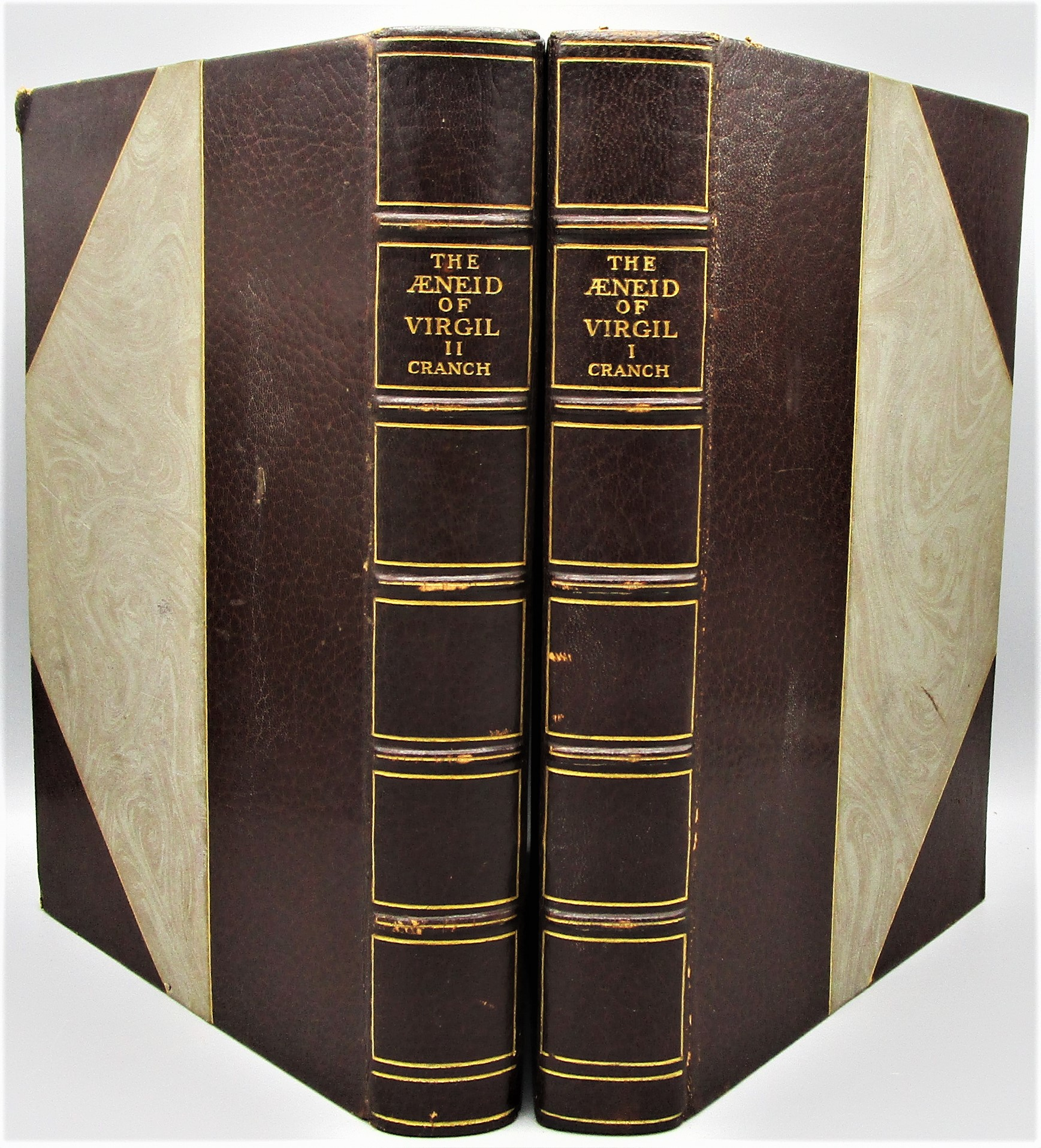THE AENEID OF VIRGIL, by C.P. Cranch (tr) - 1906 [Ltd Ed; 2 Vols]