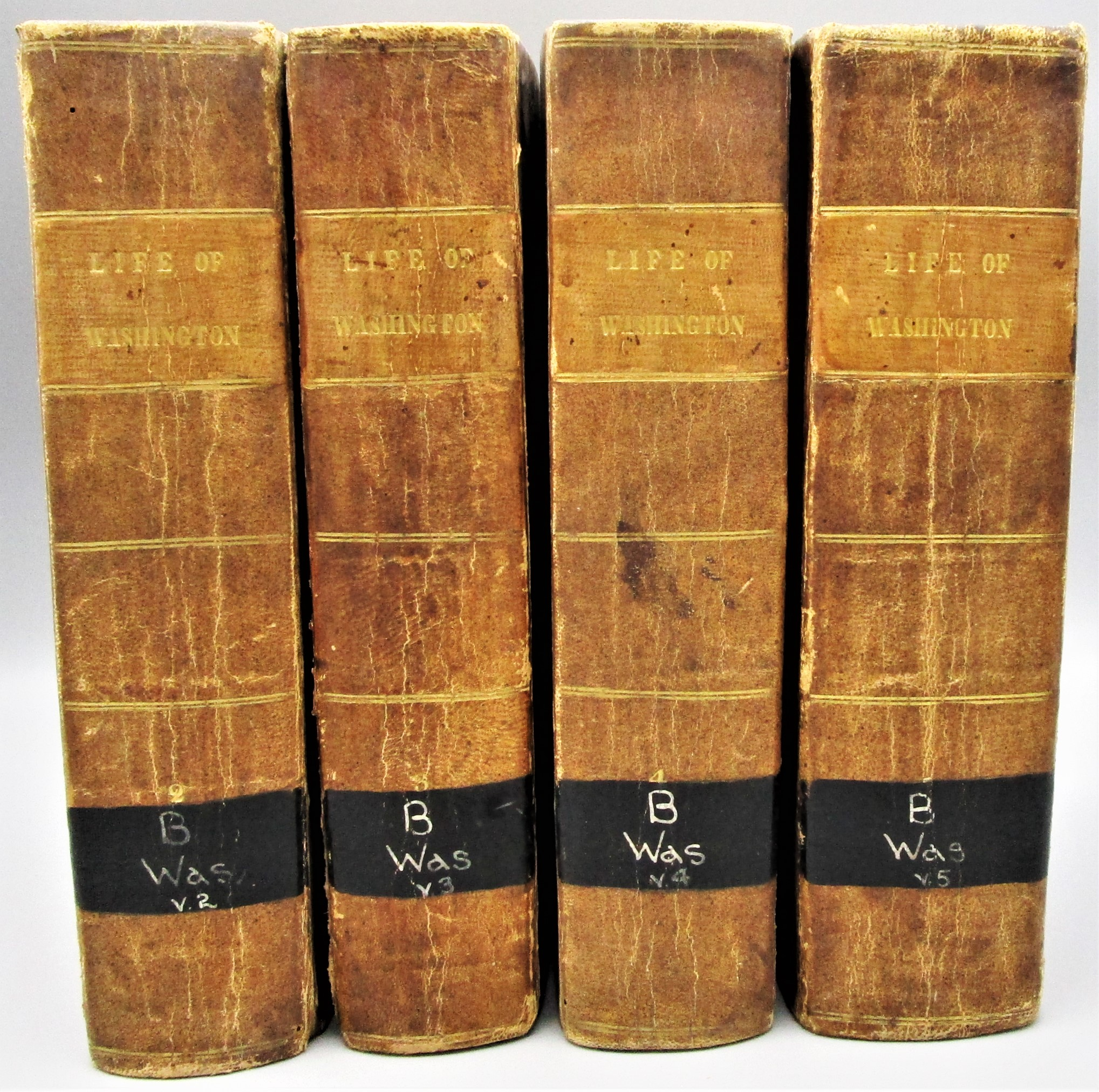 THE LIFE OF GEORGE WASHINGTON, by John Marshall - 1804-7 [1st Ed, Vols #2-5]