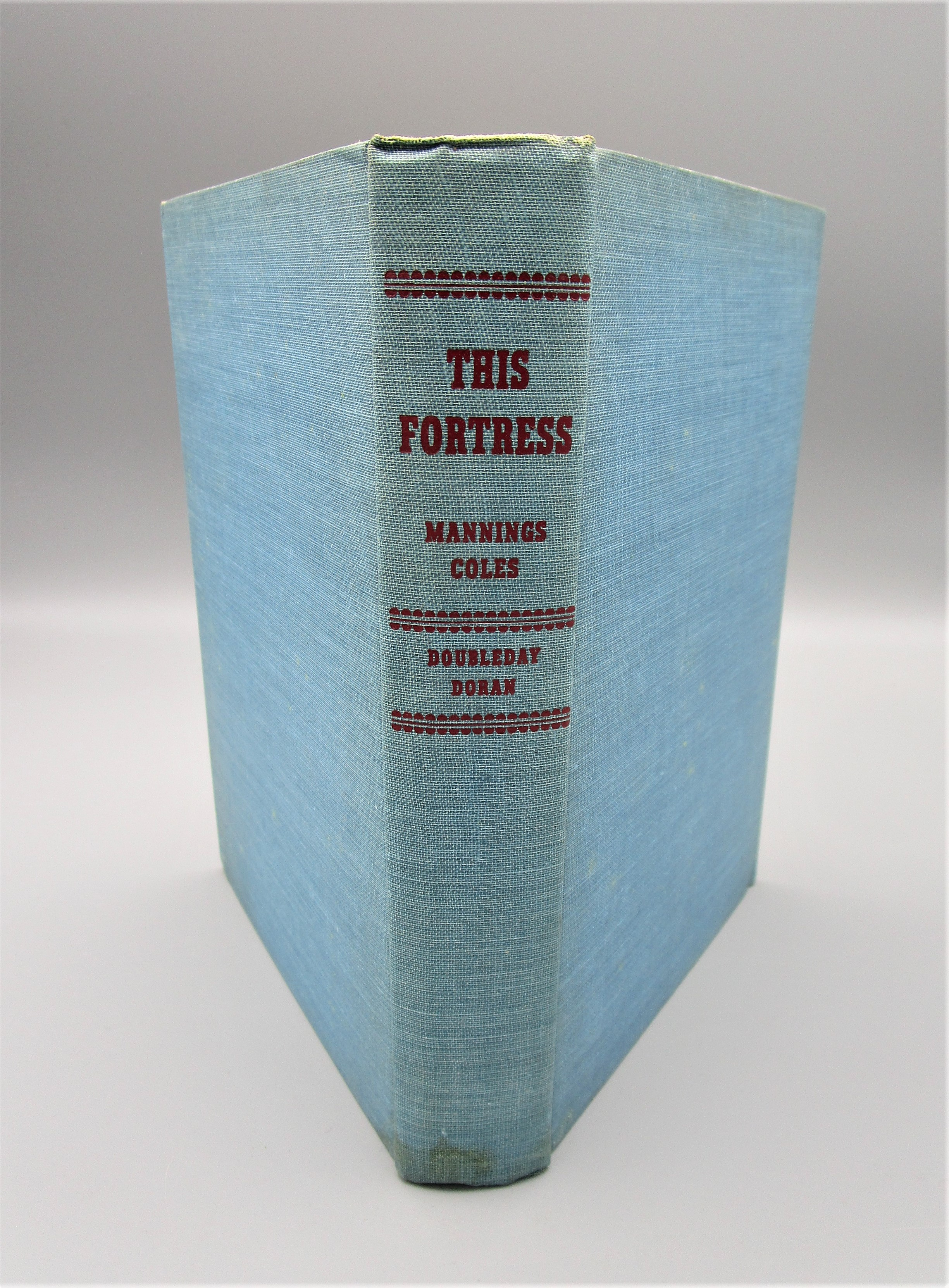 THIS FORTRESS, by Manning Coles - 1942 [1st Ed]