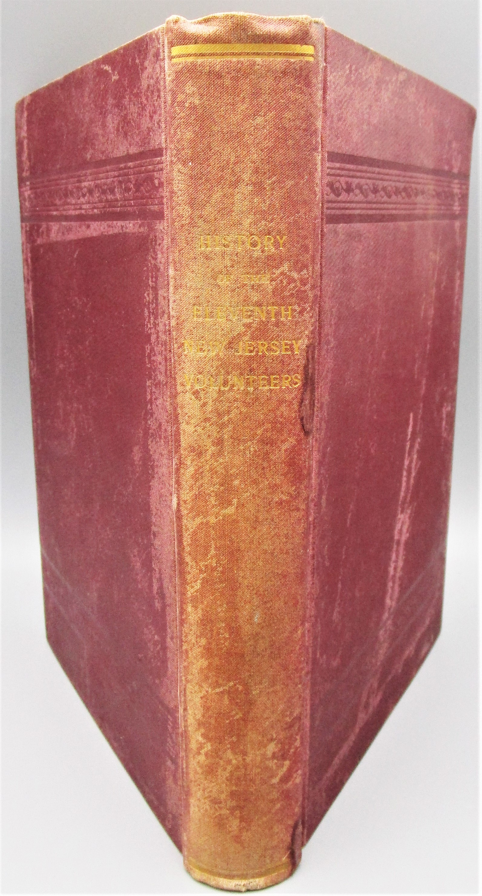 HISTORY OF THE ELEVENTH NEW JERSEY VOLUNTEERS, by Thos D. Marbaker - 1898 [1st Ed]