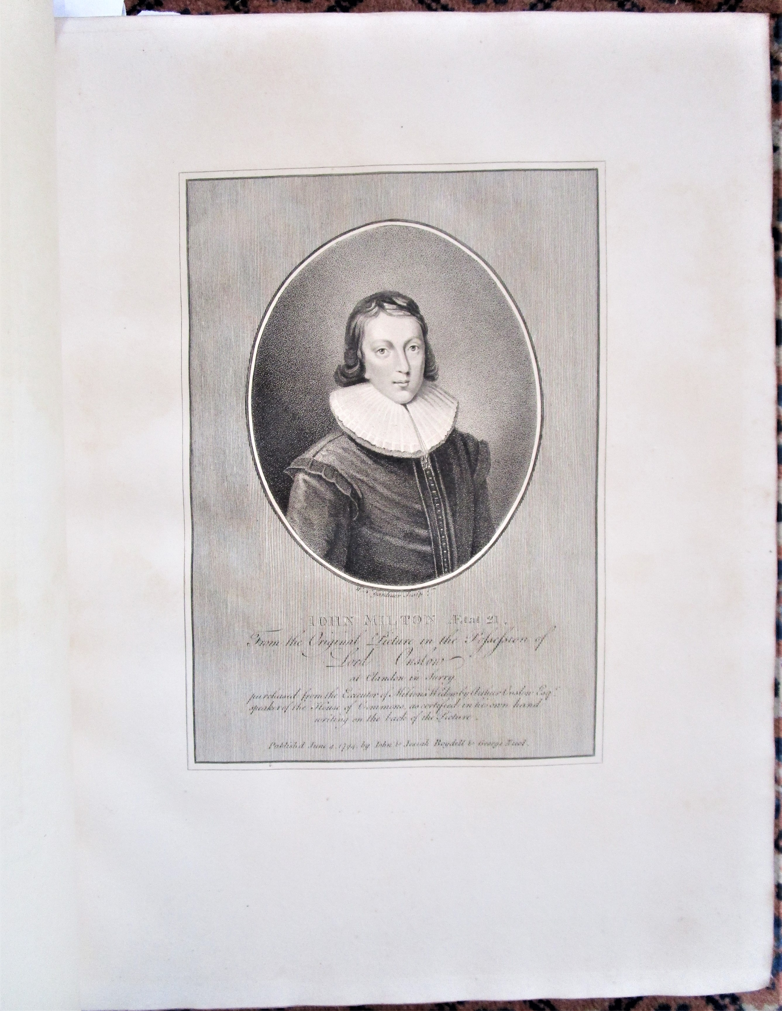 THE POETICAL WORKS OF JOHN MILTON, illustr by Richard Westall - 1794