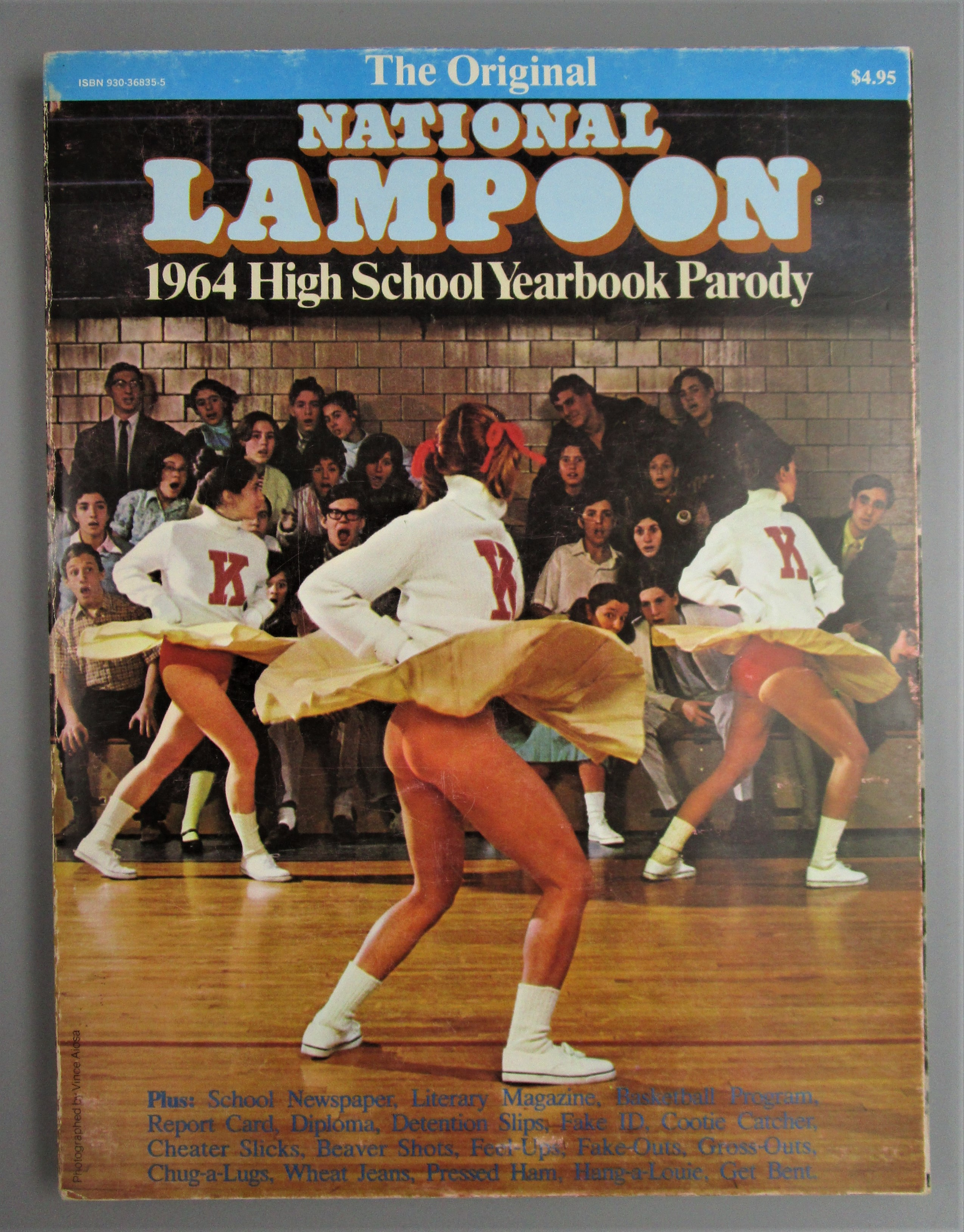 NATIONAL LAMPOON: 1964 HIGH SCHOOL YEARBOOK PARODY, by  O'Rourke & Kenney - 1979 [4th Ed]