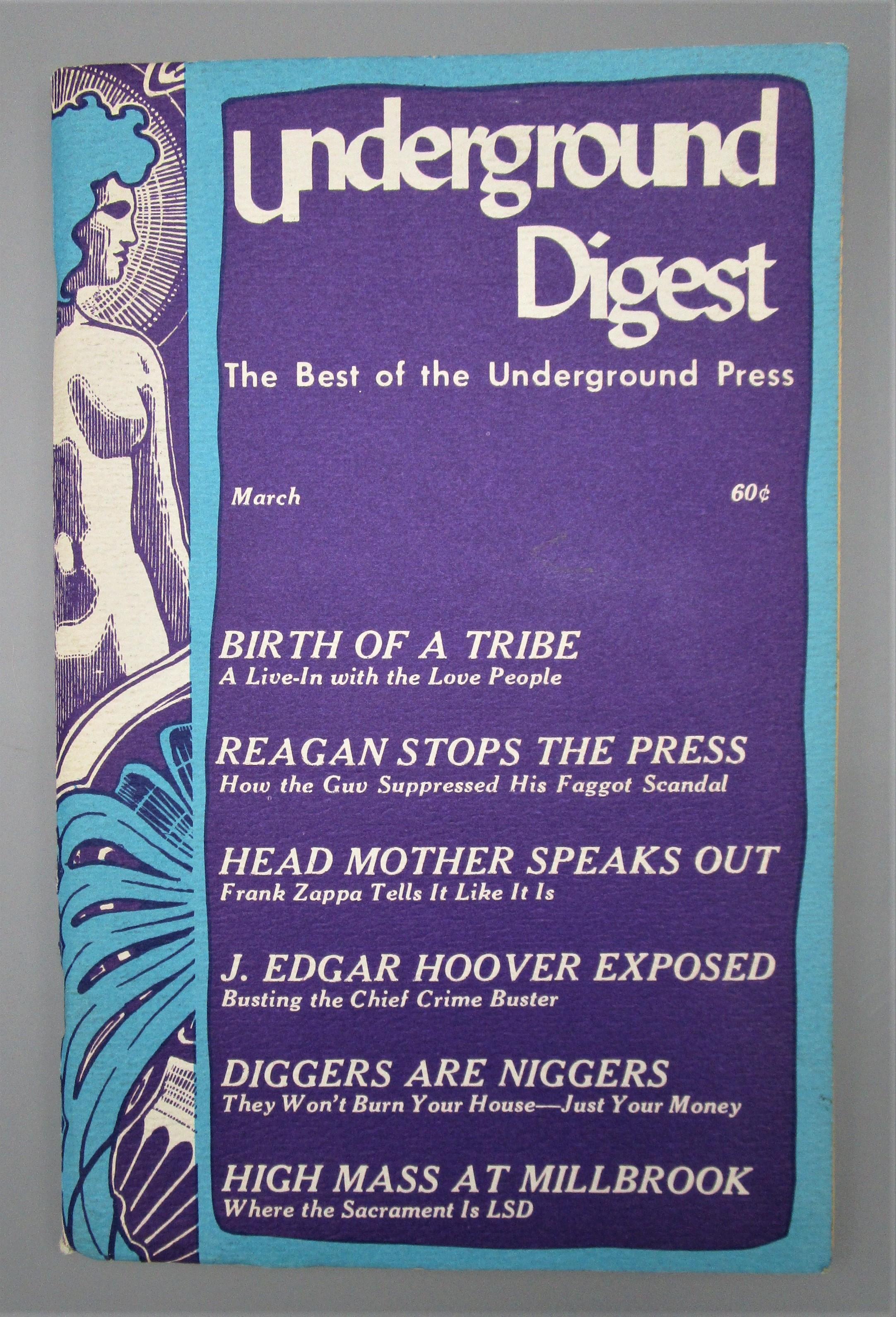 UNDERGROUND DIGEST v.1, #2 March - 1967