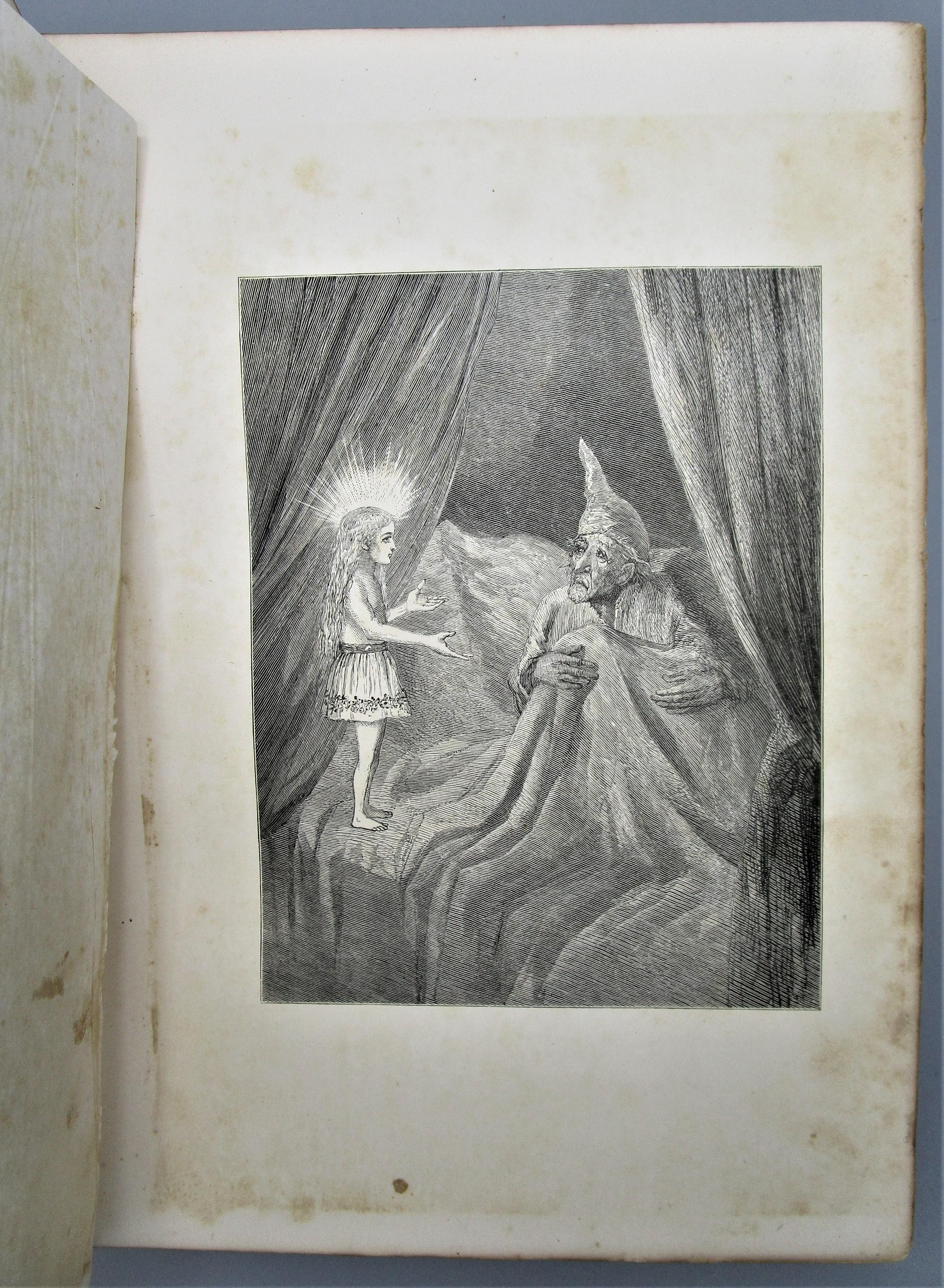 A CHRISTMAS CAROL IN PROSE, by Charles Dickens; illus by Eytinge - 1869