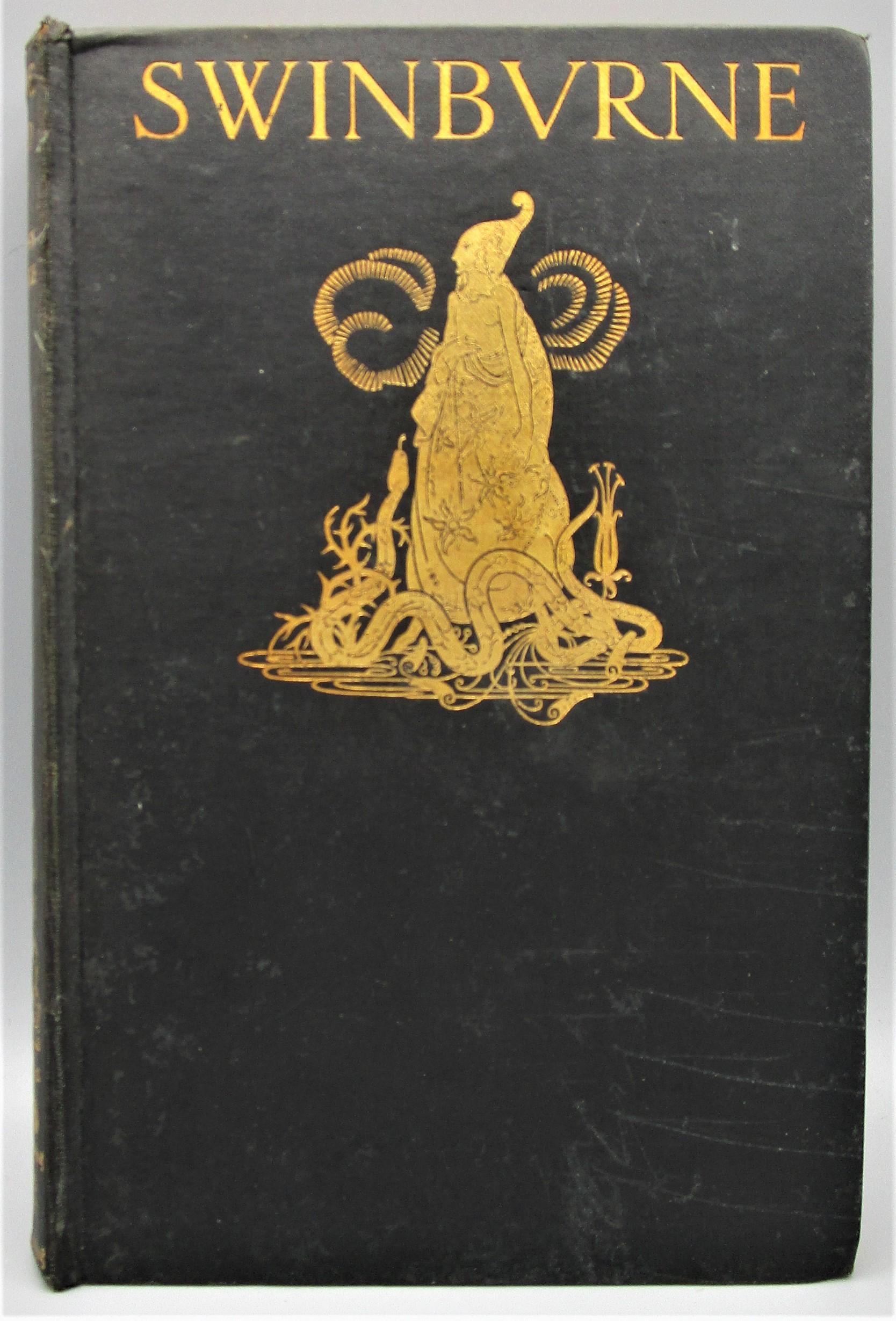 SELECTED POEMS OF ALGERNON CHARLES SWINBURNE, illus. by H. Clarke - 1928 [1st Ed]