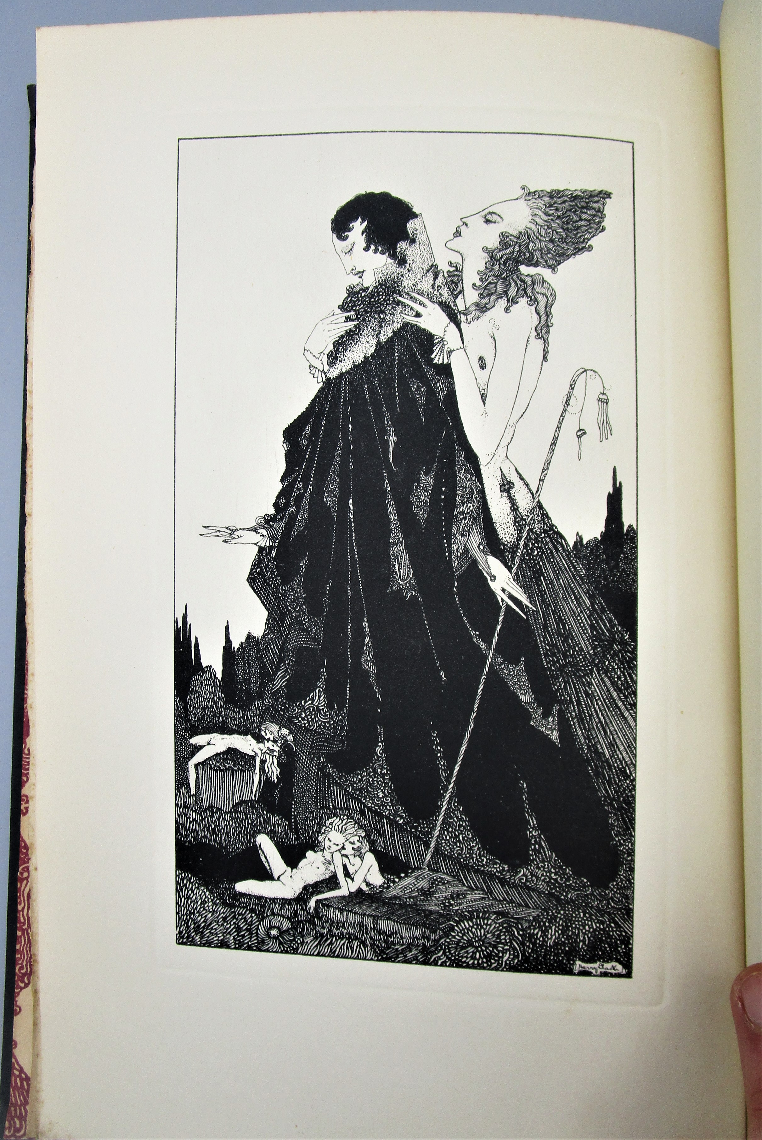 SELECTED POEMS OF ALGERNON CHARLES SWINBURNE, illus. by H. Clarke - 1928 [1st Ed]