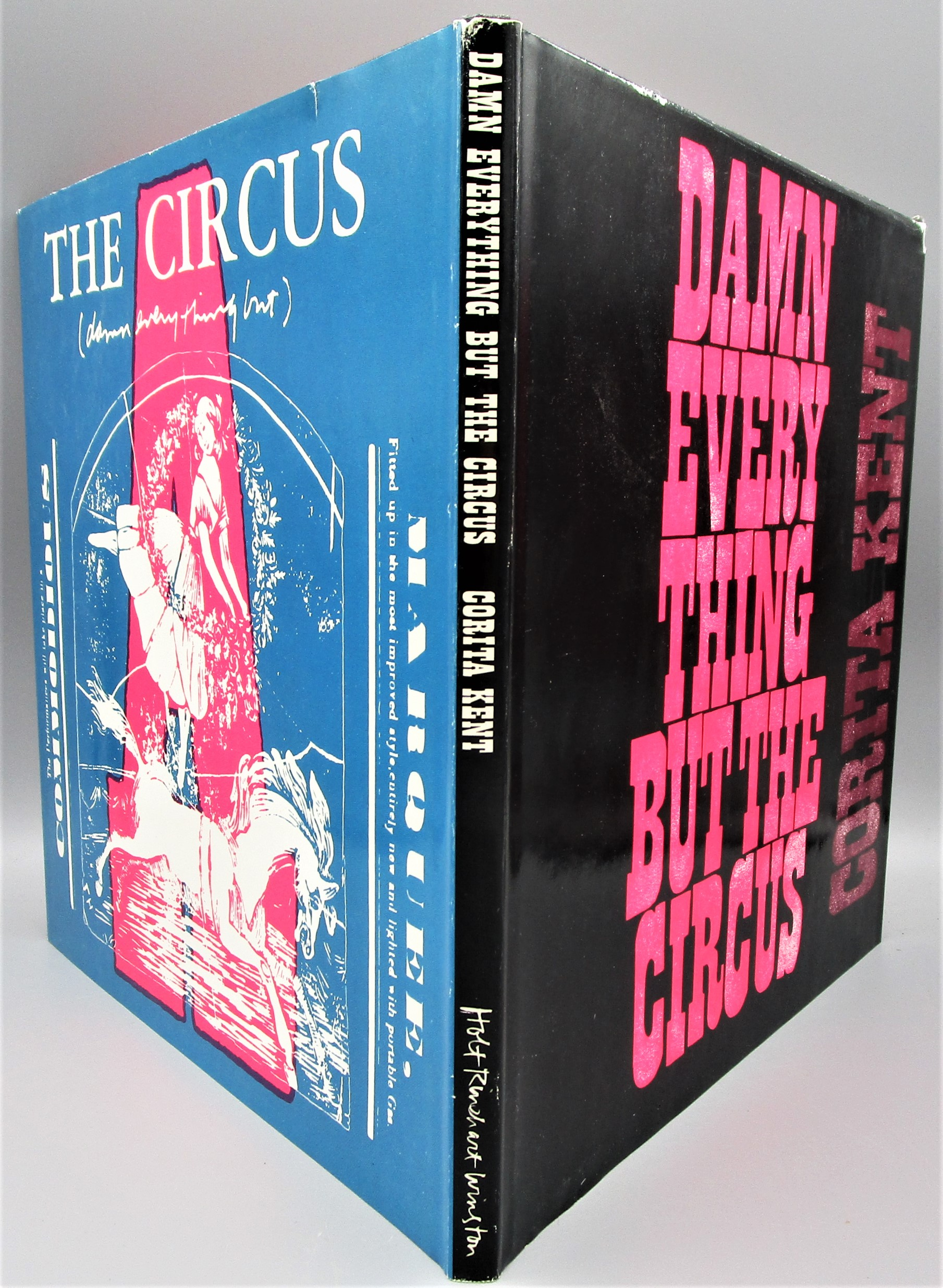DAMN EVERYTHING BUT THE CIRCUS, by Corita Kent - 1970 [Signed 1st Ed]